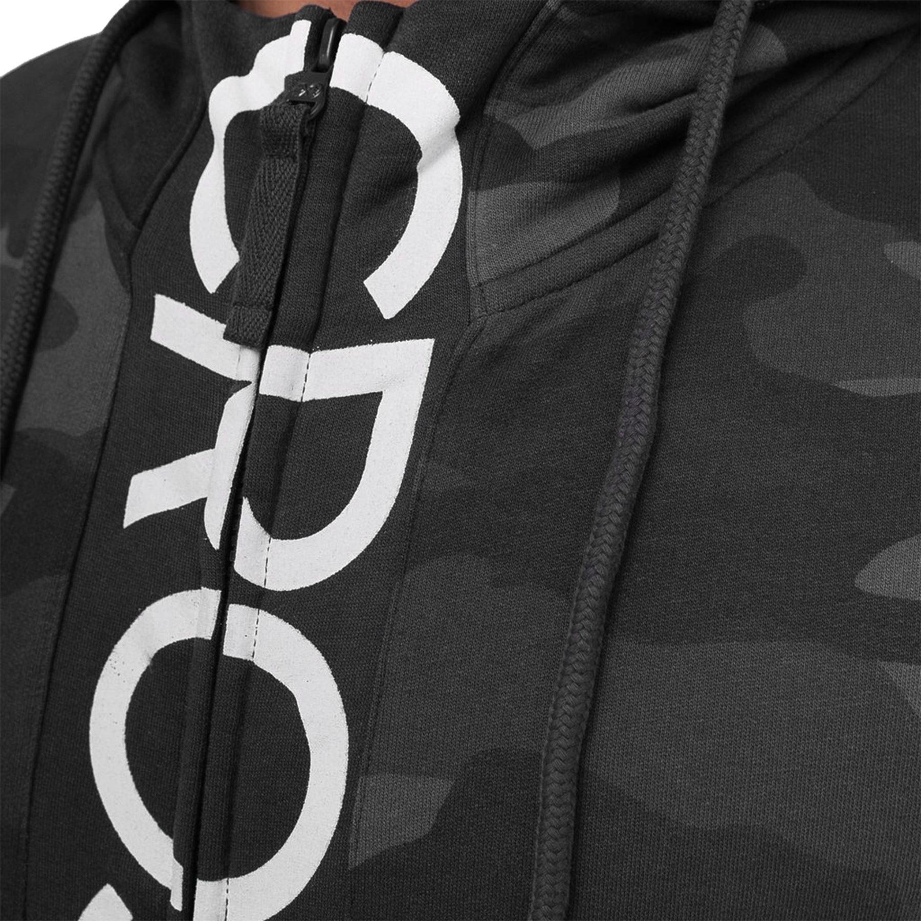 Crosshatch-Mens-Camo-Hoodie-Designer-Army-Style-Jacket-Zip-Thru-Pocket-Jacket thumbnail 10