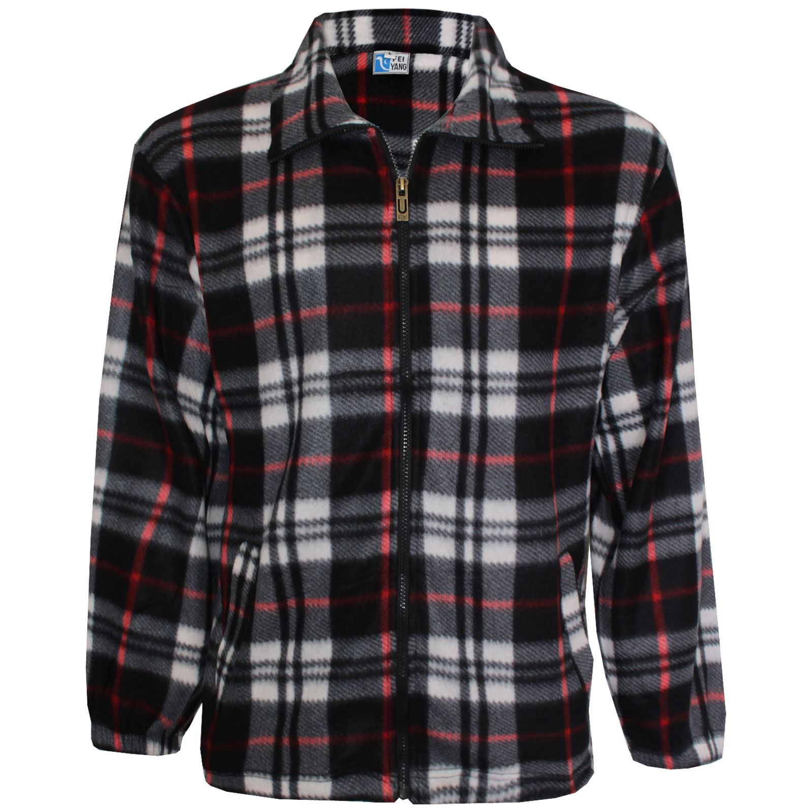 mens new flannel lumber jack warm brushed fleece work. Black Bedroom Furniture Sets. Home Design Ideas