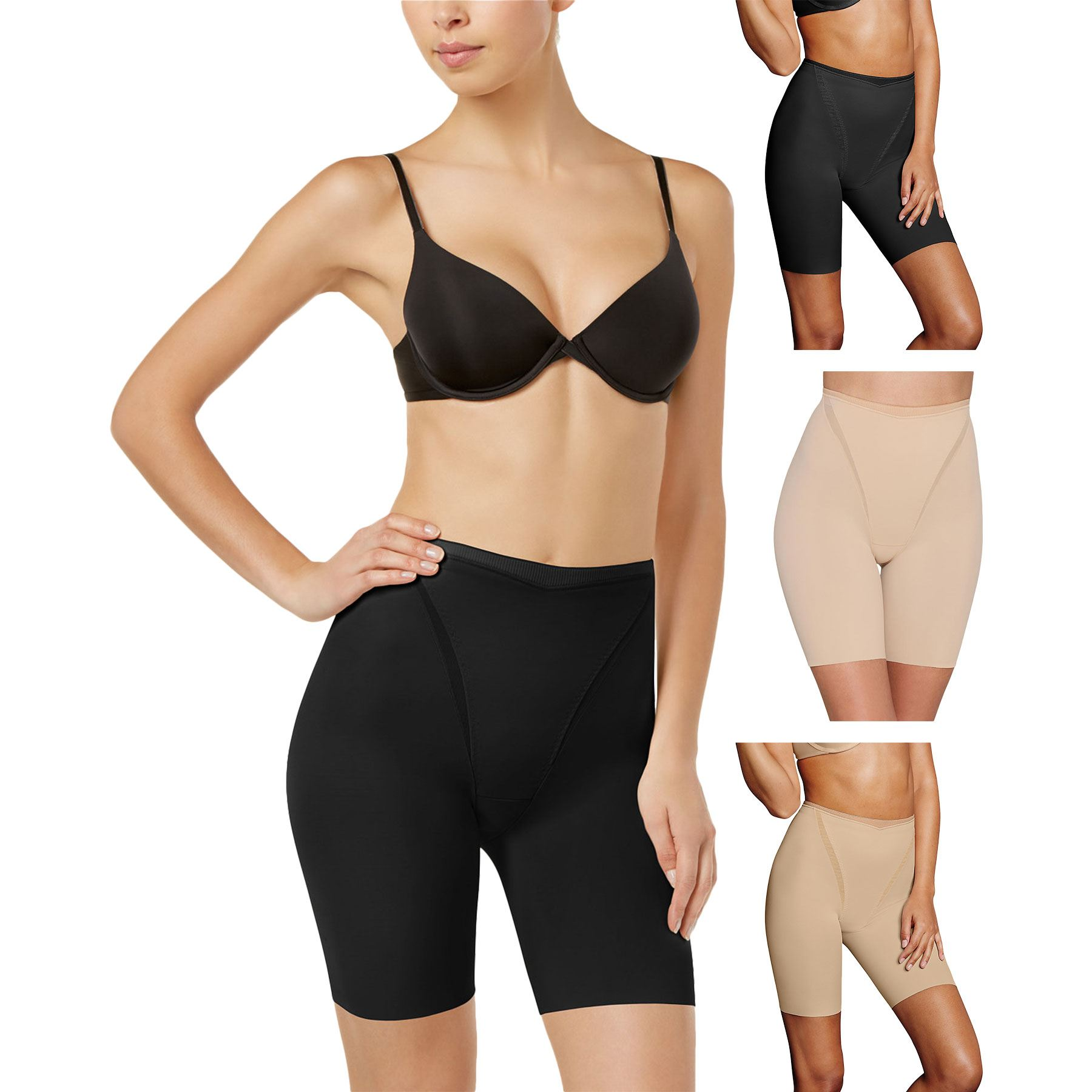 ac39c795e0272 Maidenform Flexees Everyday Thigh Slimmer Control Pant New Shapewear ...