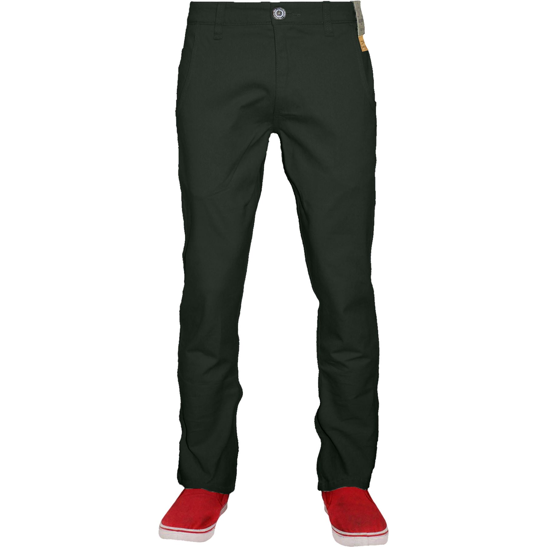 Mens-Stretch-Chino-Jacksouth-Designer-Regular-Fit-Straight-Leg-Trousers-Cotton thumbnail 5