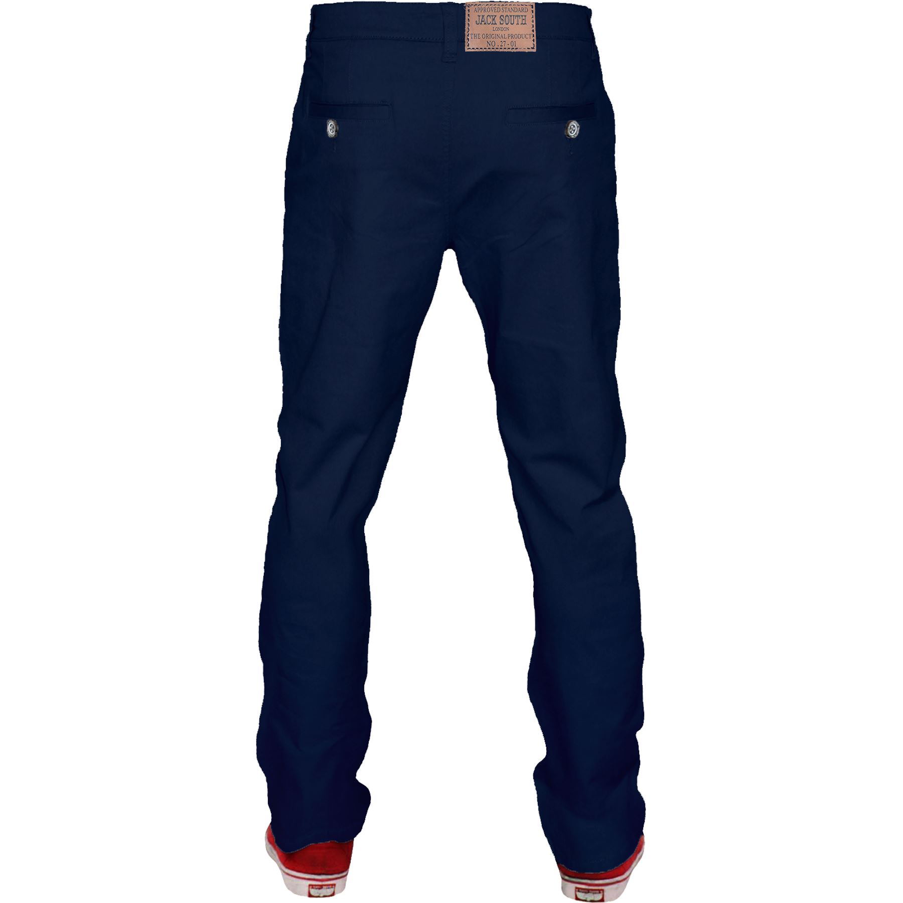 Mens-Chino-Classic-Regular-Fit-Trouser-Casual-Stretch-Spandex-Pants-Size-32-40 thumbnail 16