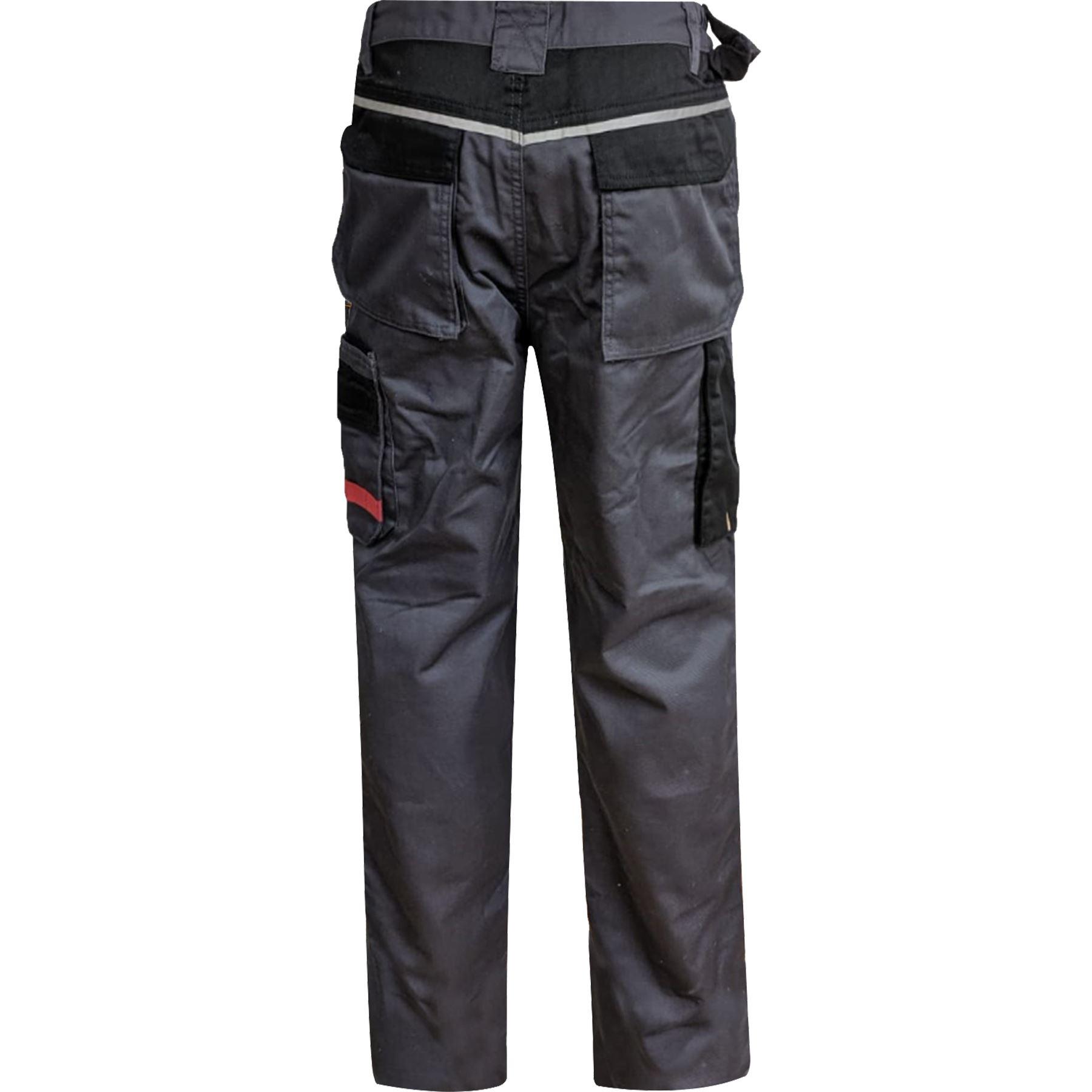 Para-Hombre-Elastico-Cargo-Pantalones-De-Trabajo-Cordura-Resistente-Rodilleras-Bolsillos-Hi-Vis miniatura 10