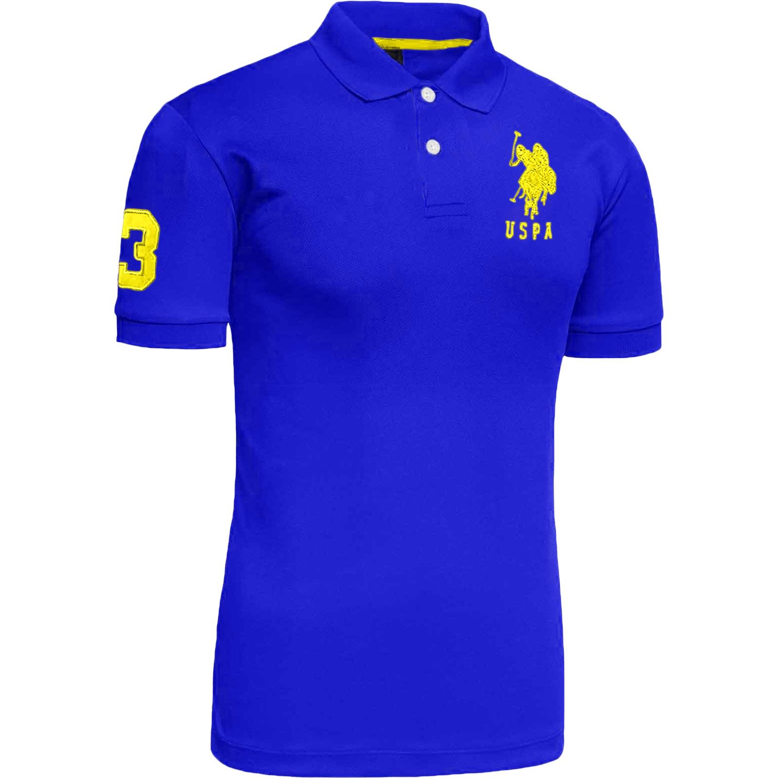 mens us polo assn pique t shirt original shirt branded top. Black Bedroom Furniture Sets. Home Design Ideas