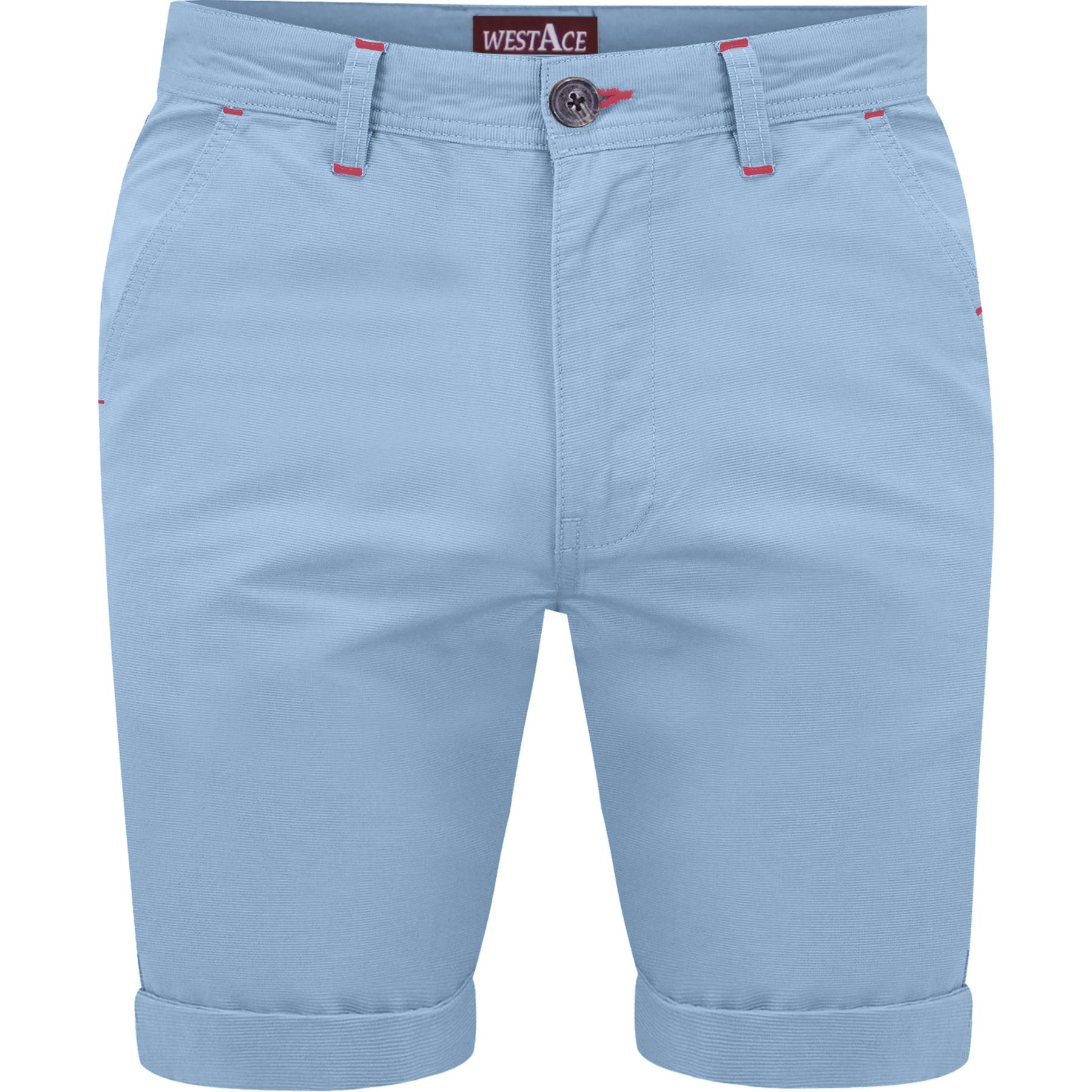 Mens-Chino-Shorts-Cotton-Summer-Casual-Jeans-Cargo-Combat-Half-Pants-Casual-New thumbnail 13