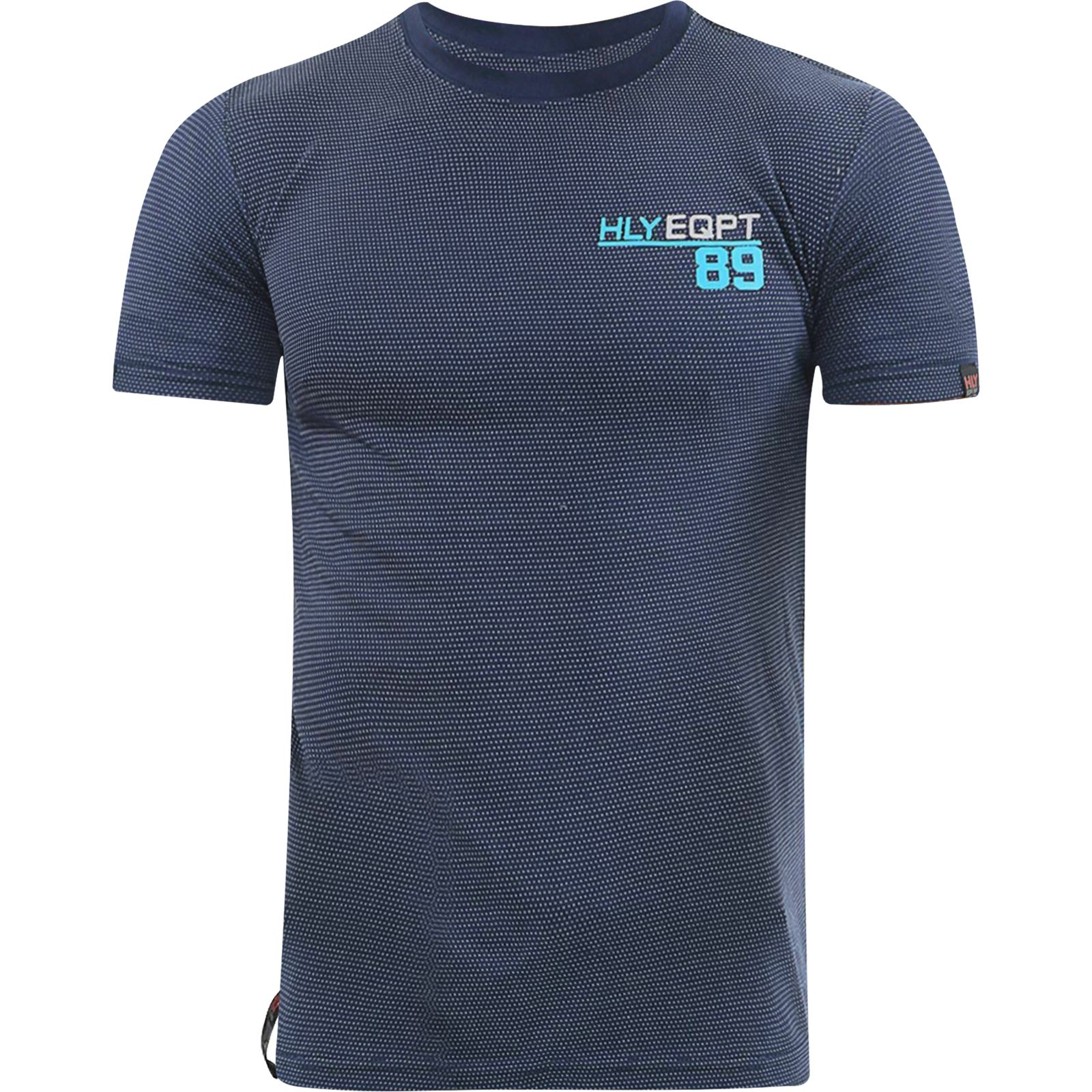 Mens-HLY-T-Shirt-Printed-Designer-100-Cotton-Gym-Athletic-Crew-Neck-Top-Tee thumbnail 9