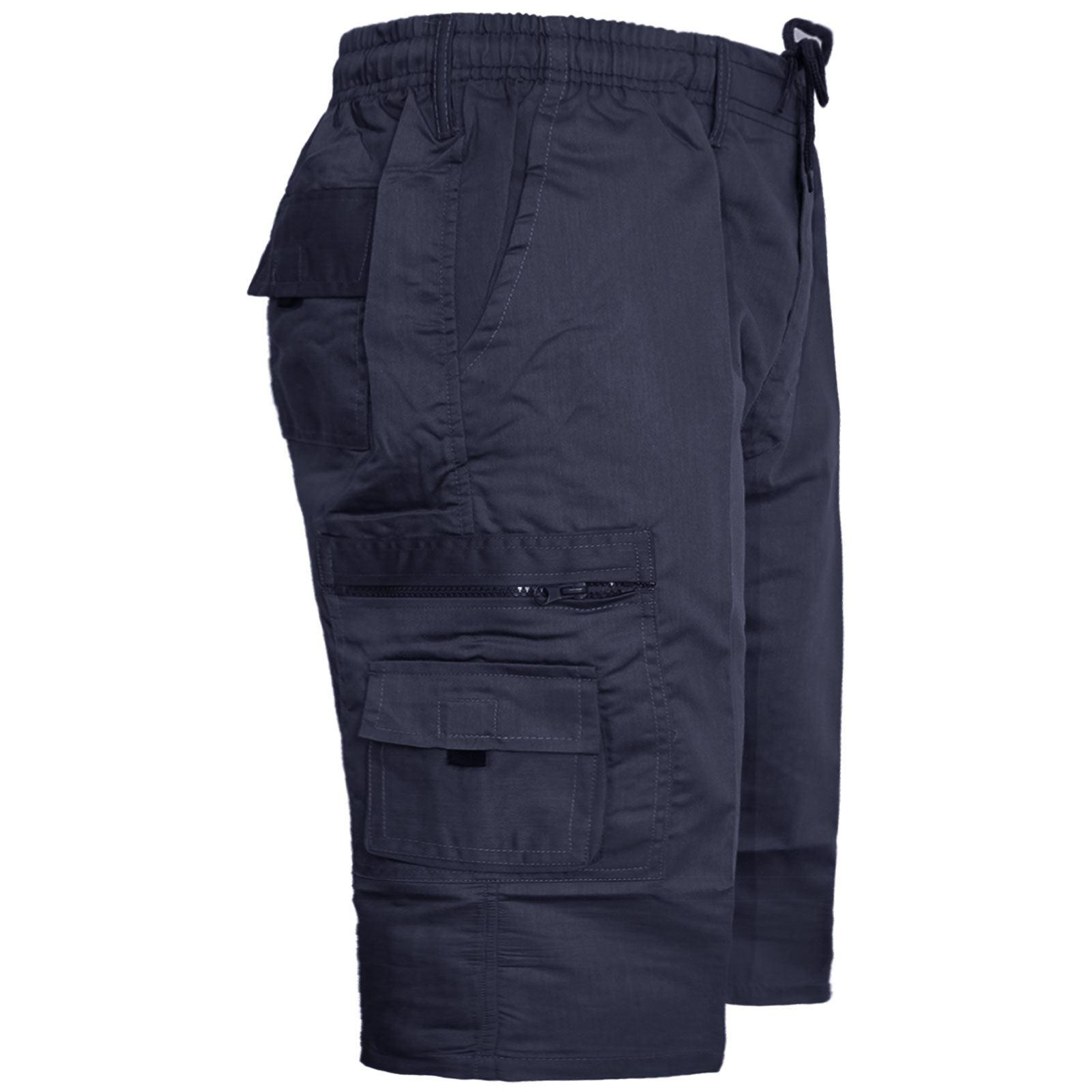 Para-Hombre-Elastico-Casual-Verano-Shorts-Pantalones-cortos-de-carga-Rey-Tamano-Grande-4XL-5XL-6XL miniatura 6