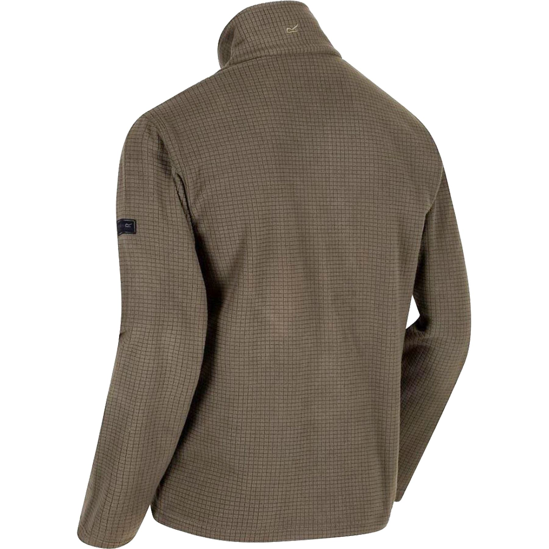 Mens-Regatta-Textured-Lightweight-Micro-Half-Zip-Fleece-Top-Jacket-Sizes-S-4XL thumbnail 9