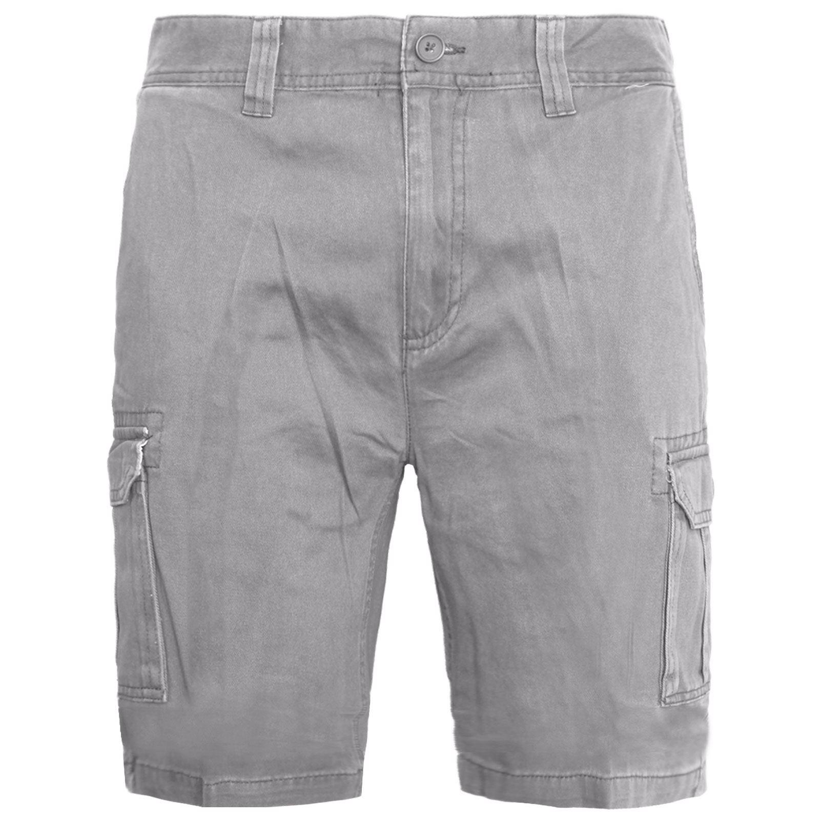 Mens-Multi-Pocket-Cargo-Shorts-Combat-Chino-Half-Pants-100-Cotton-Work-30-46 thumbnail 8