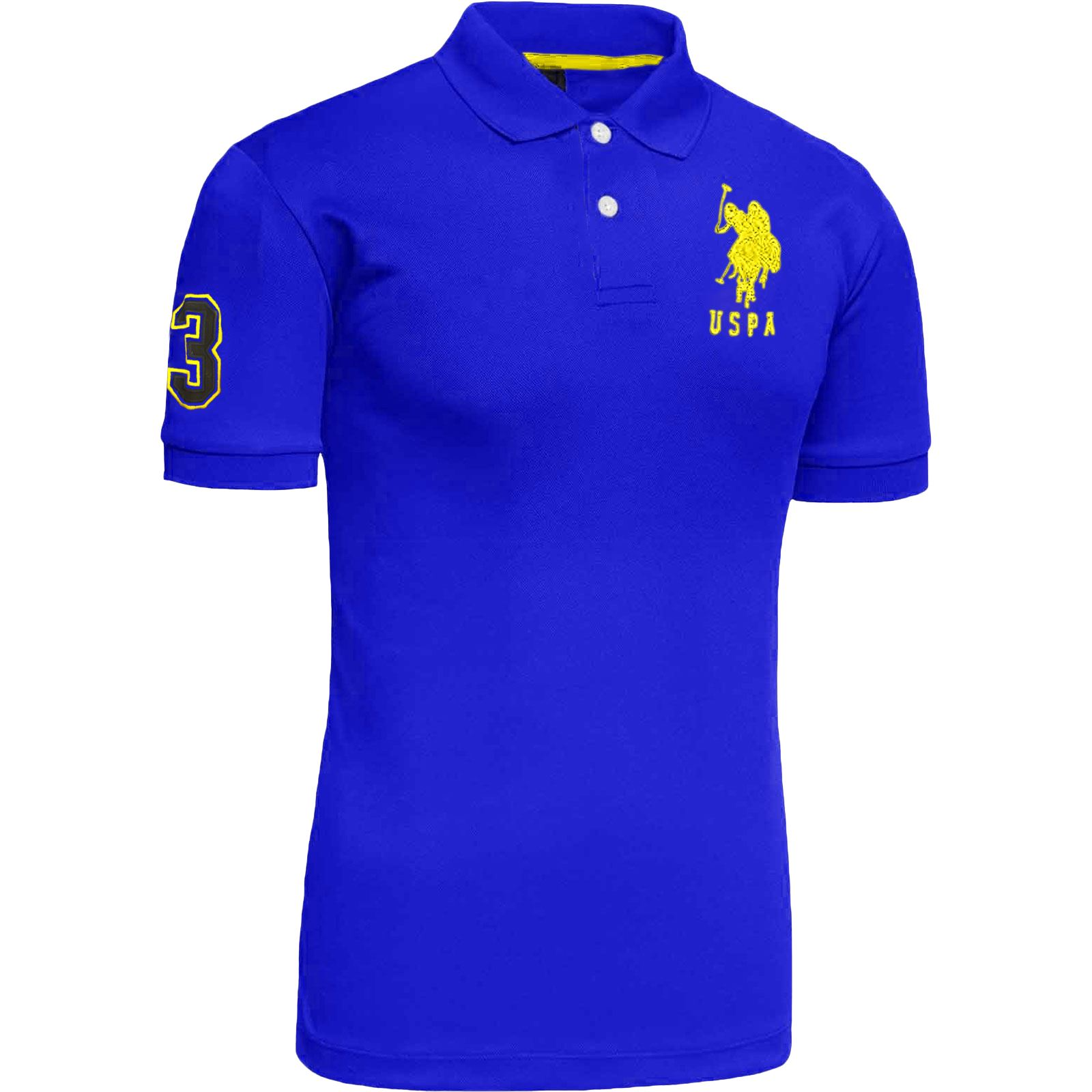 New mens us polo assn 2017 design tshirt top coloured for Polo t shirt design images