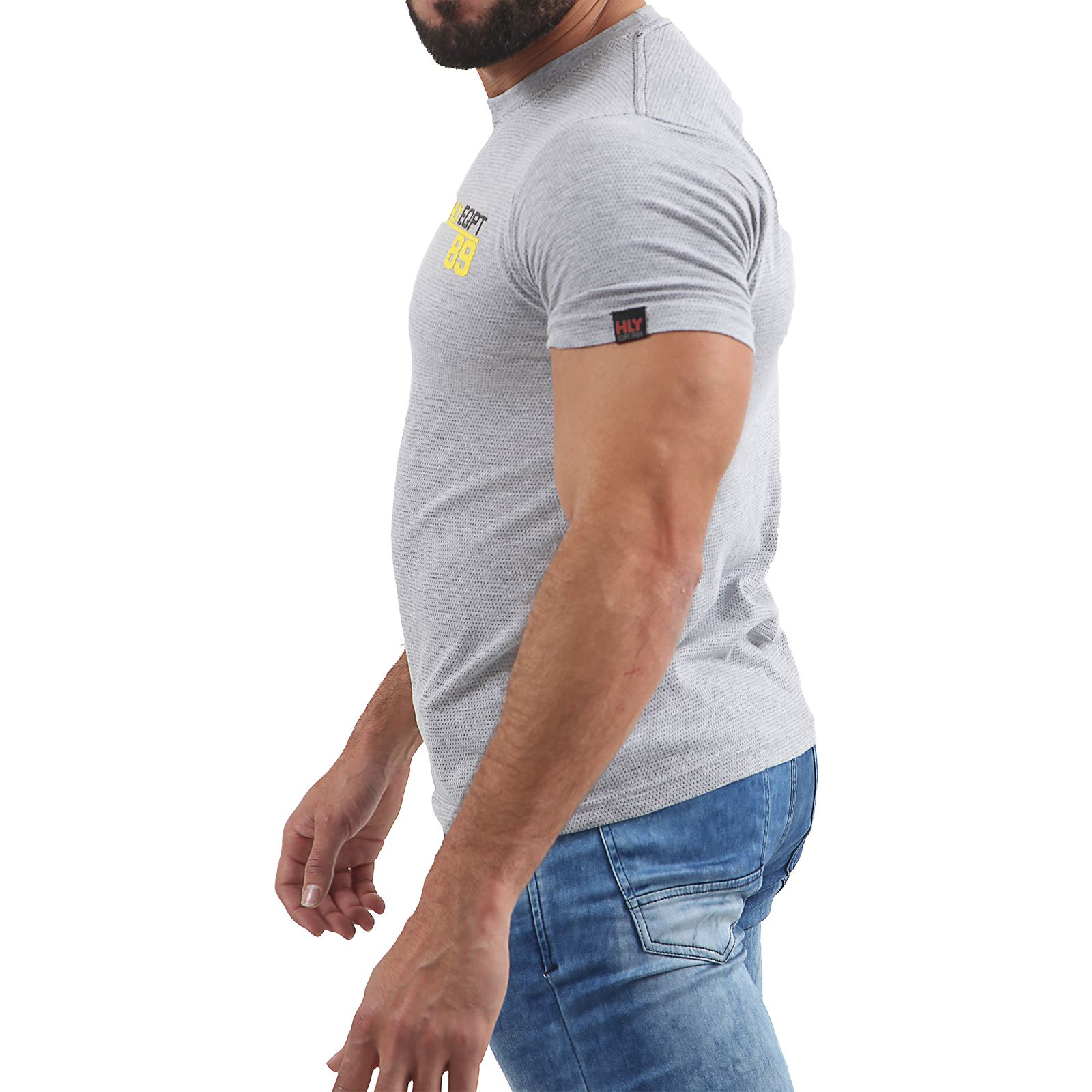 Mens-HLY-EQPT-Printed-T-Shirt-100-Cotton-Gym-Athletic-Training-Tee-Top-Summer thumbnail 29