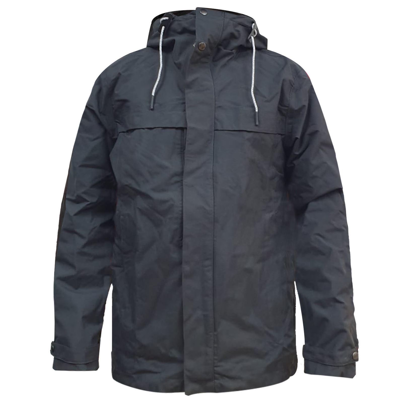 Result-Homme-Randonnee-Impermeable-Isole-Rembourre-Matelasse-Capuche-Trek-Coat miniature 5