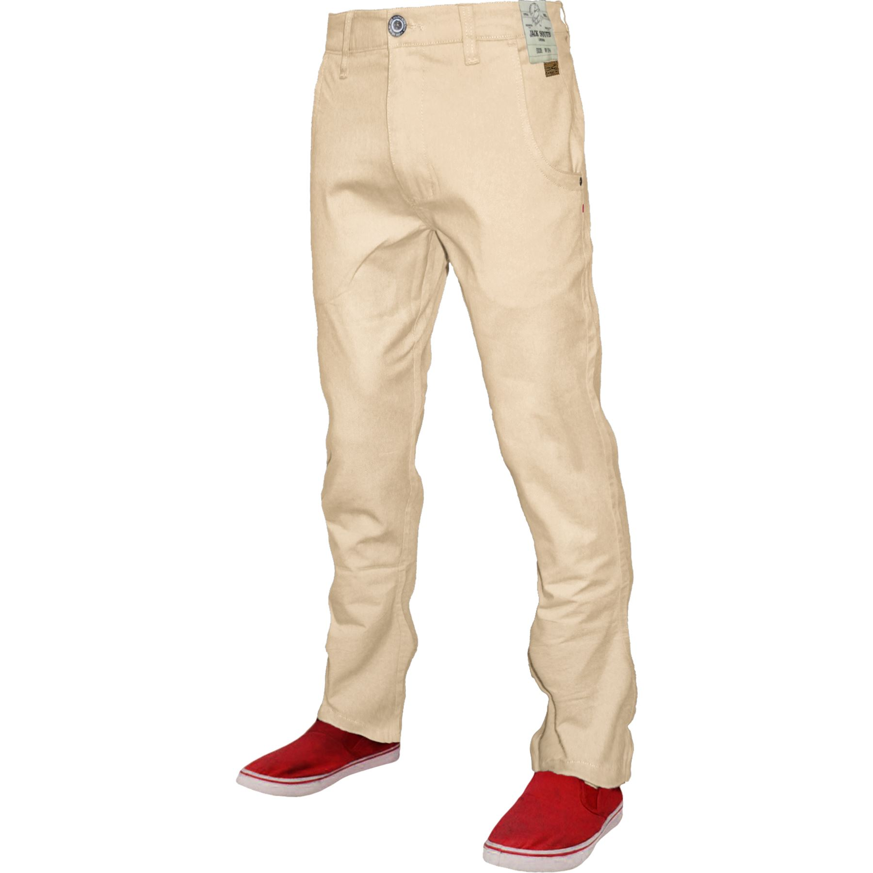 Mens-Chino-Classic-Regular-Fit-Trouser-Casual-Stretch-Spandex-Pants-Size-32-40 thumbnail 24