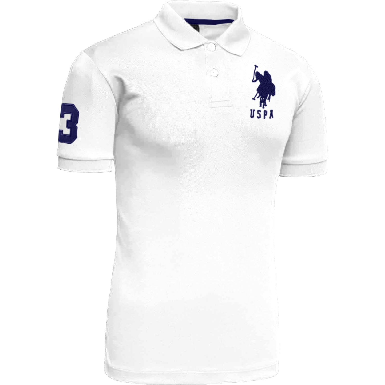 Mens us polo assn pique short sleeve cotton t shirt for Best polo t shirts for men