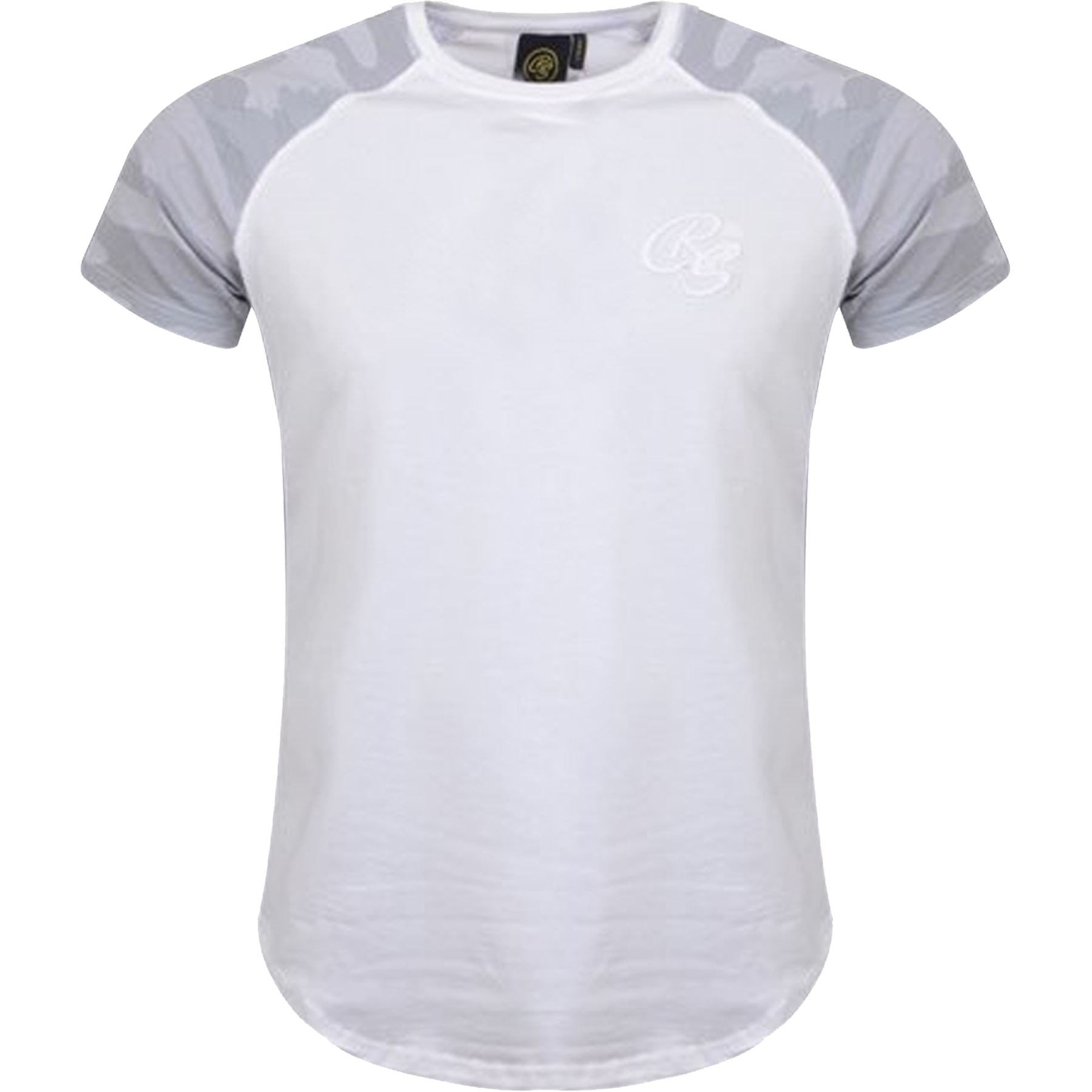 New-Mens-Crosshatch-T-Shirt-Summer-Contrast-Fade-2-Tone-Short-Sleeved-Top-Tee thumbnail 8