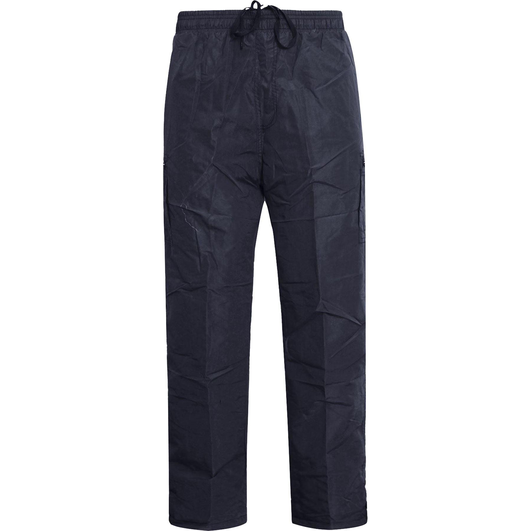 New-Mens-Lightweight-Elasticated-Cargo-Trousers-Combat-Work-Pants-Bottoms-M-XXL thumbnail 6