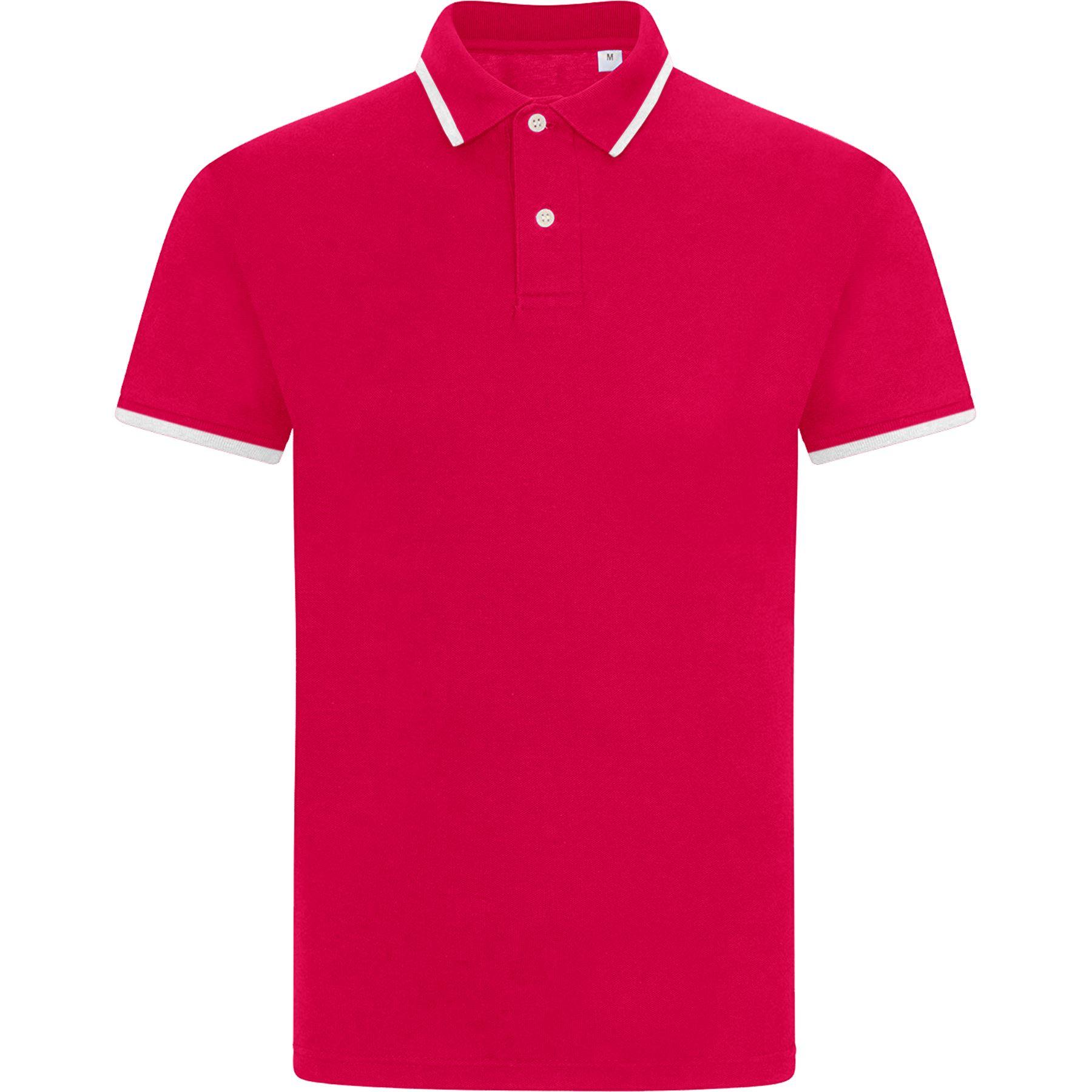 Mens-Tipping-Polo-Shirt-Ultra-Cotton-Blend-Plain-Pique-Casual-Summer-Top-T-Shirt thumbnail 3