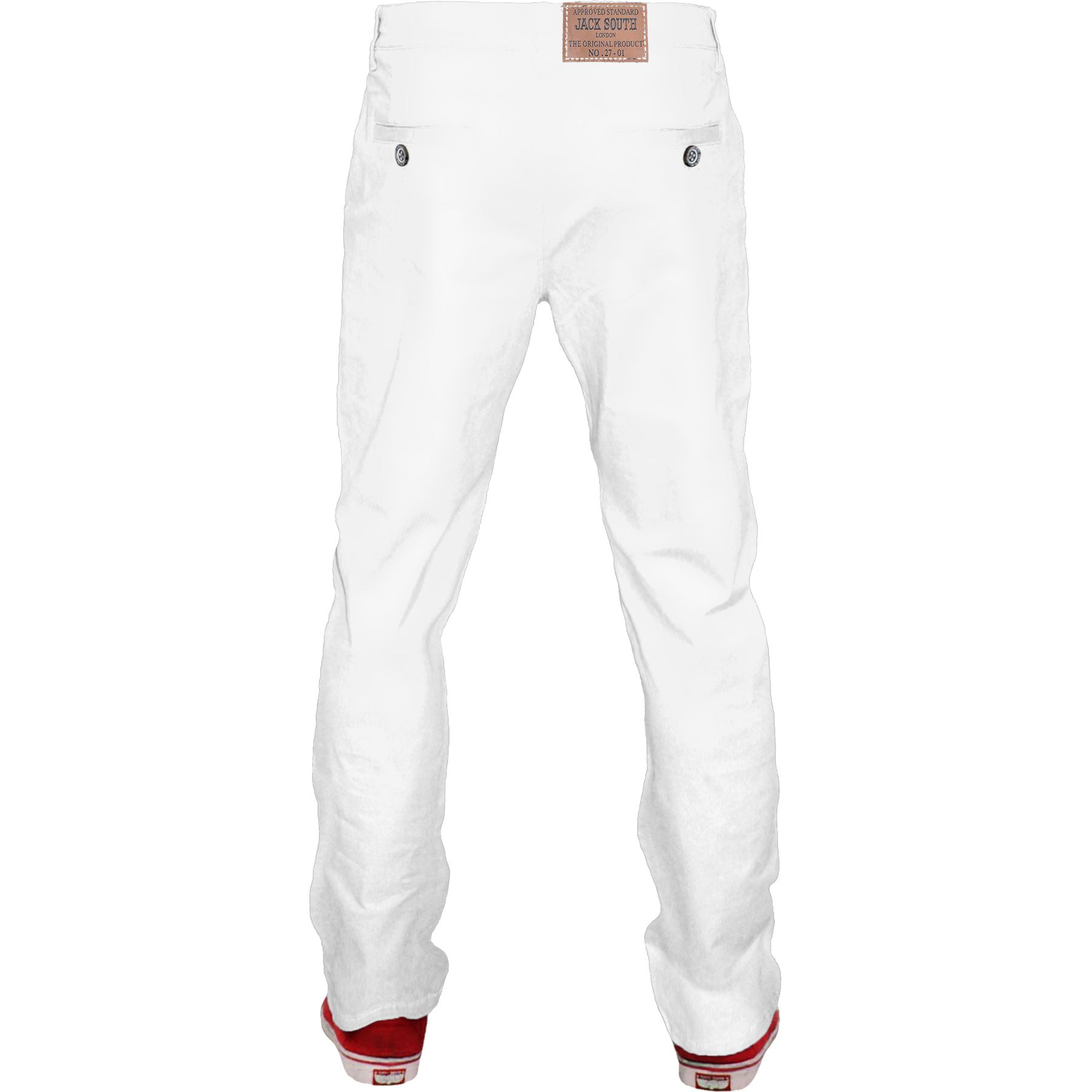 Mens-Chino-Classic-Regular-Fit-Trouser-Casual-Stretch-Spandex-Pants-Size-32-40 thumbnail 31