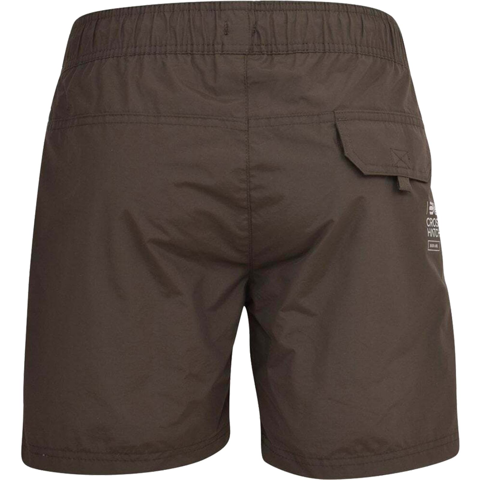 Mens-Crosshatch-Shorts-Drawcord-Mesh-Lined-Designer-Beach-Casual-Swimming-Trunks thumbnail 21