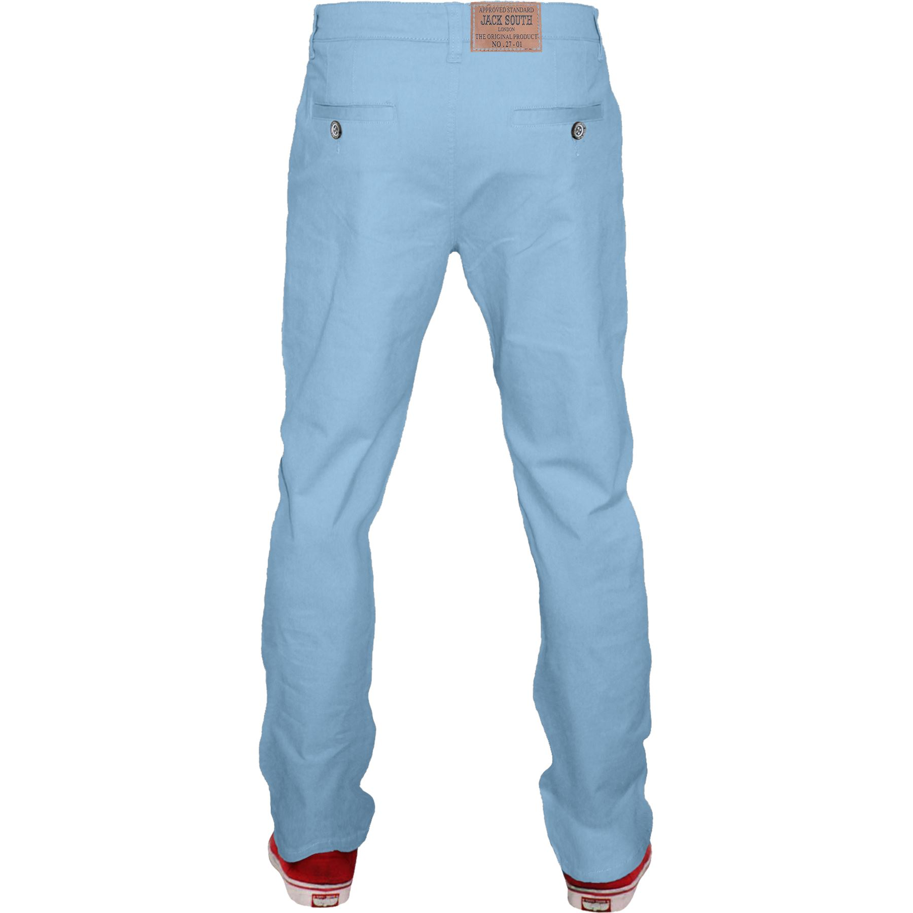 Mens-Chino-Classic-Regular-Fit-Trouser-Casual-Stretch-Spandex-Pants-Size-32-40 thumbnail 13