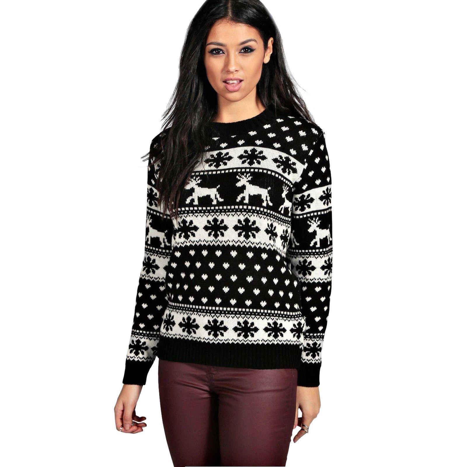 Unisex Christmas Gift Ideas: Christmas Xmas Unisex Jumper Sweater Retro Novelty Ladies