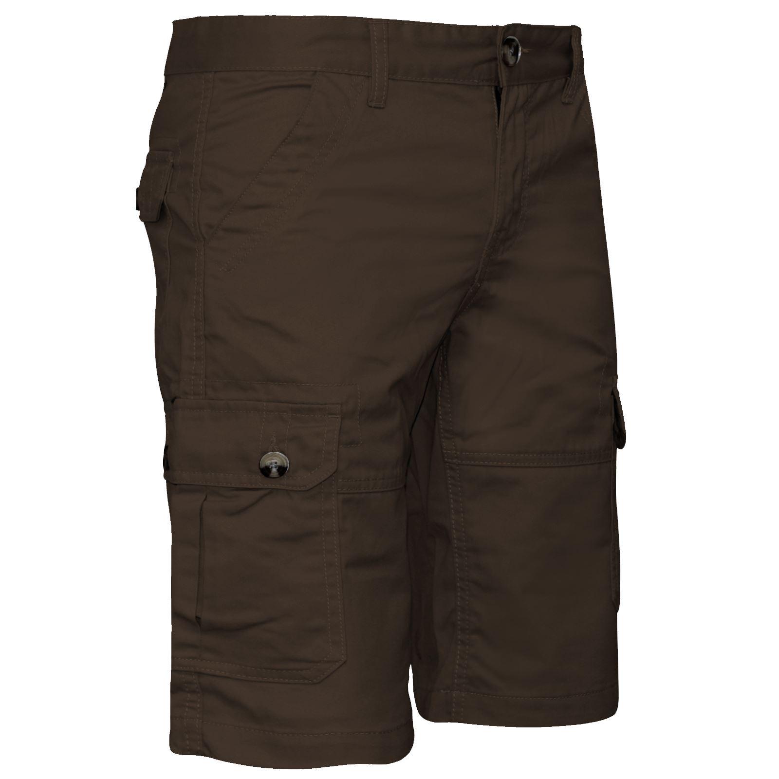 30-44 Men/'s new 100/% cotton cargo combat summer knee length half pant UK size