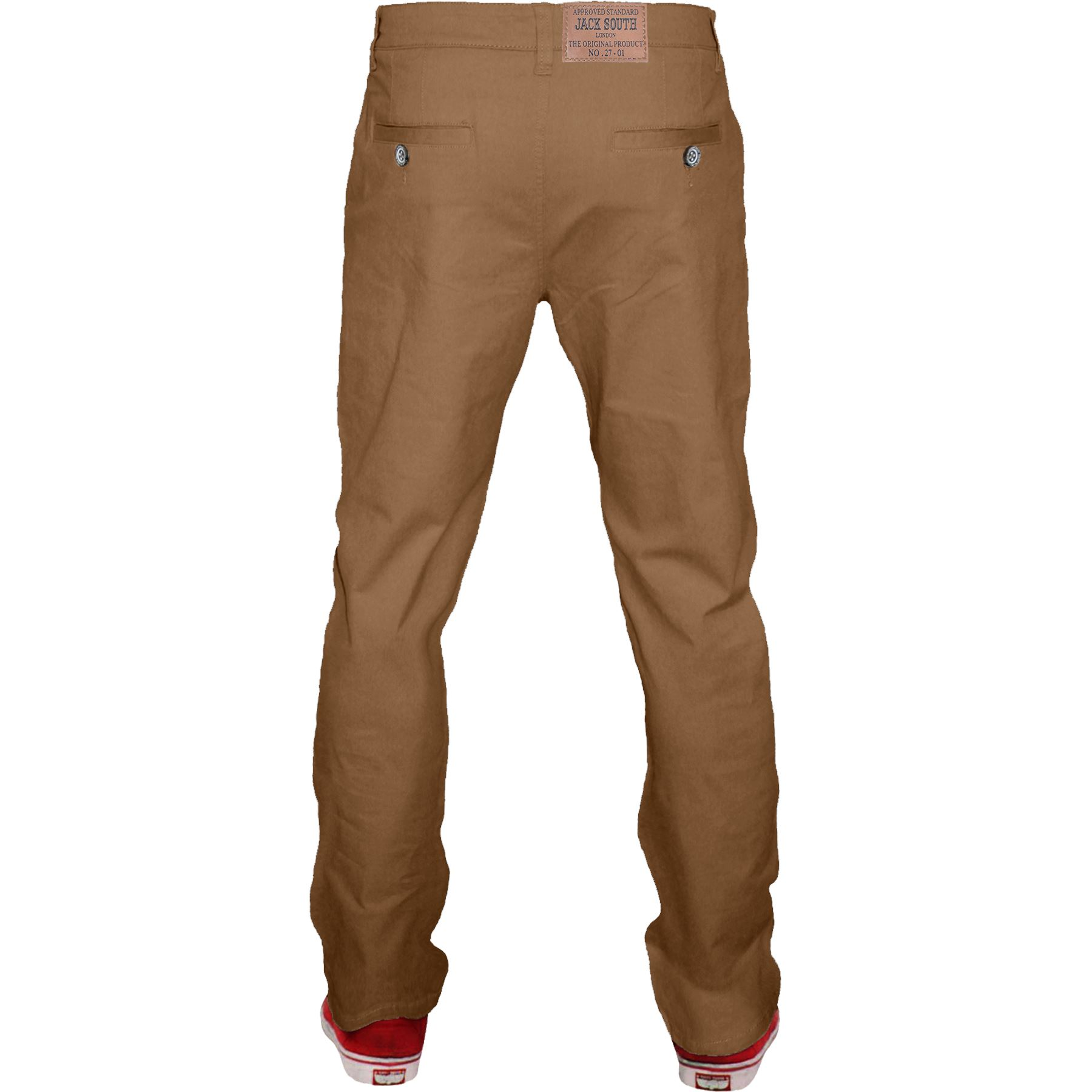 Mens-Chino-Classic-Regular-Fit-Trouser-Casual-Stretch-Spandex-Pants-Size-32-40 thumbnail 28