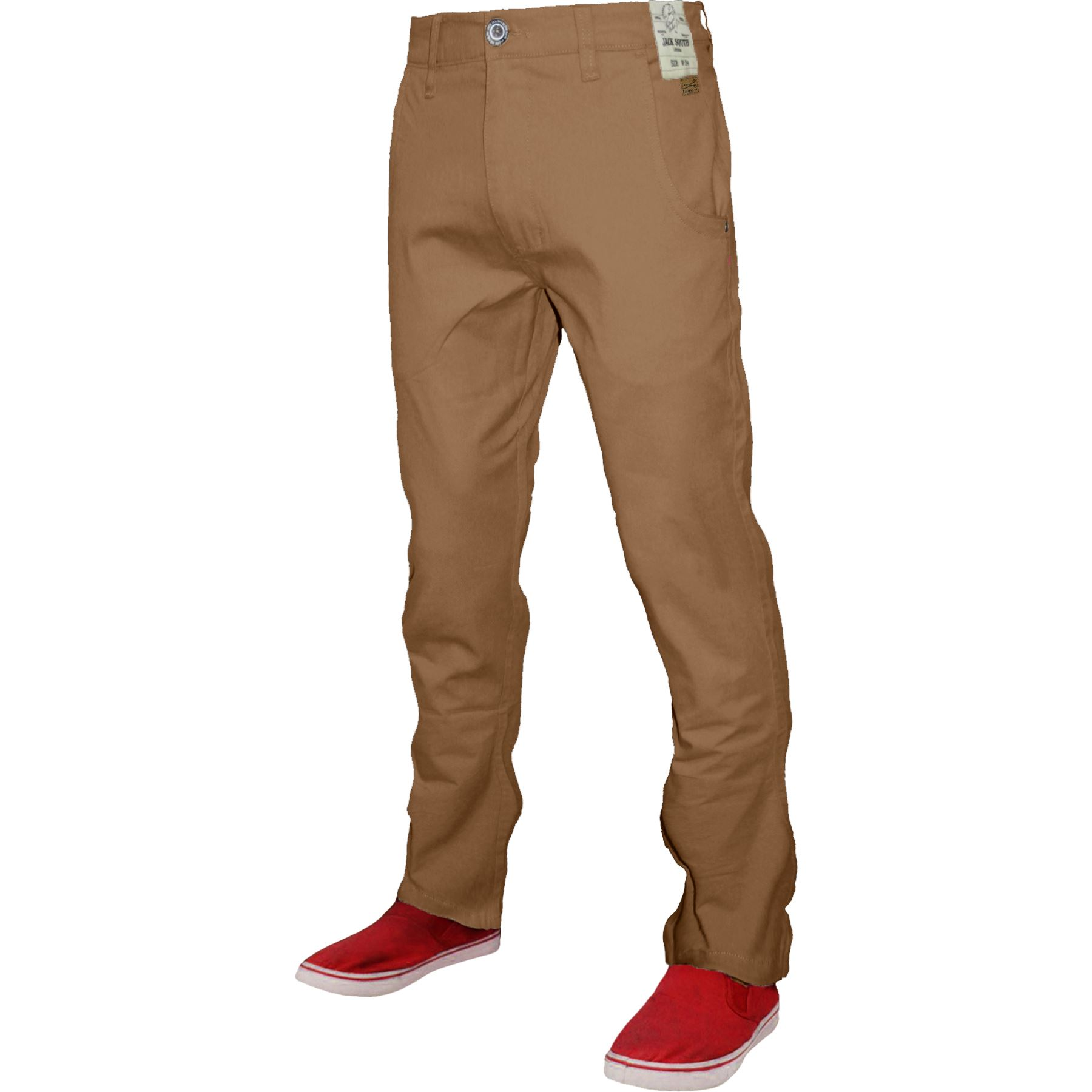 Mens-Chino-Classic-Regular-Fit-Trouser-Casual-Stretch-Spandex-Pants-Size-32-40 thumbnail 27