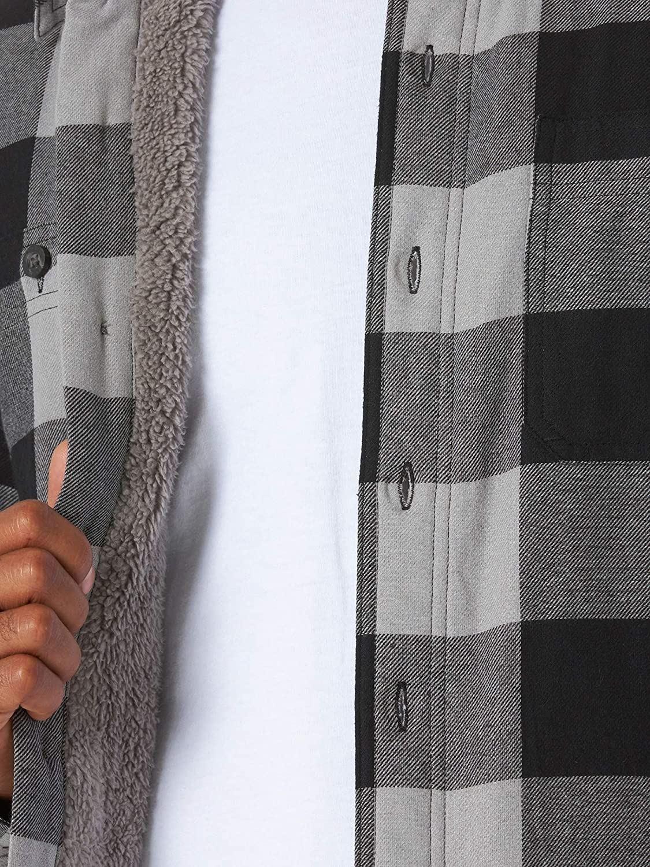 miniature 16 - Homme-Wrangler-Sherpa-Polaire-Double-Lumberjack-Rembourre-Veste-Chemise-Boutonnee