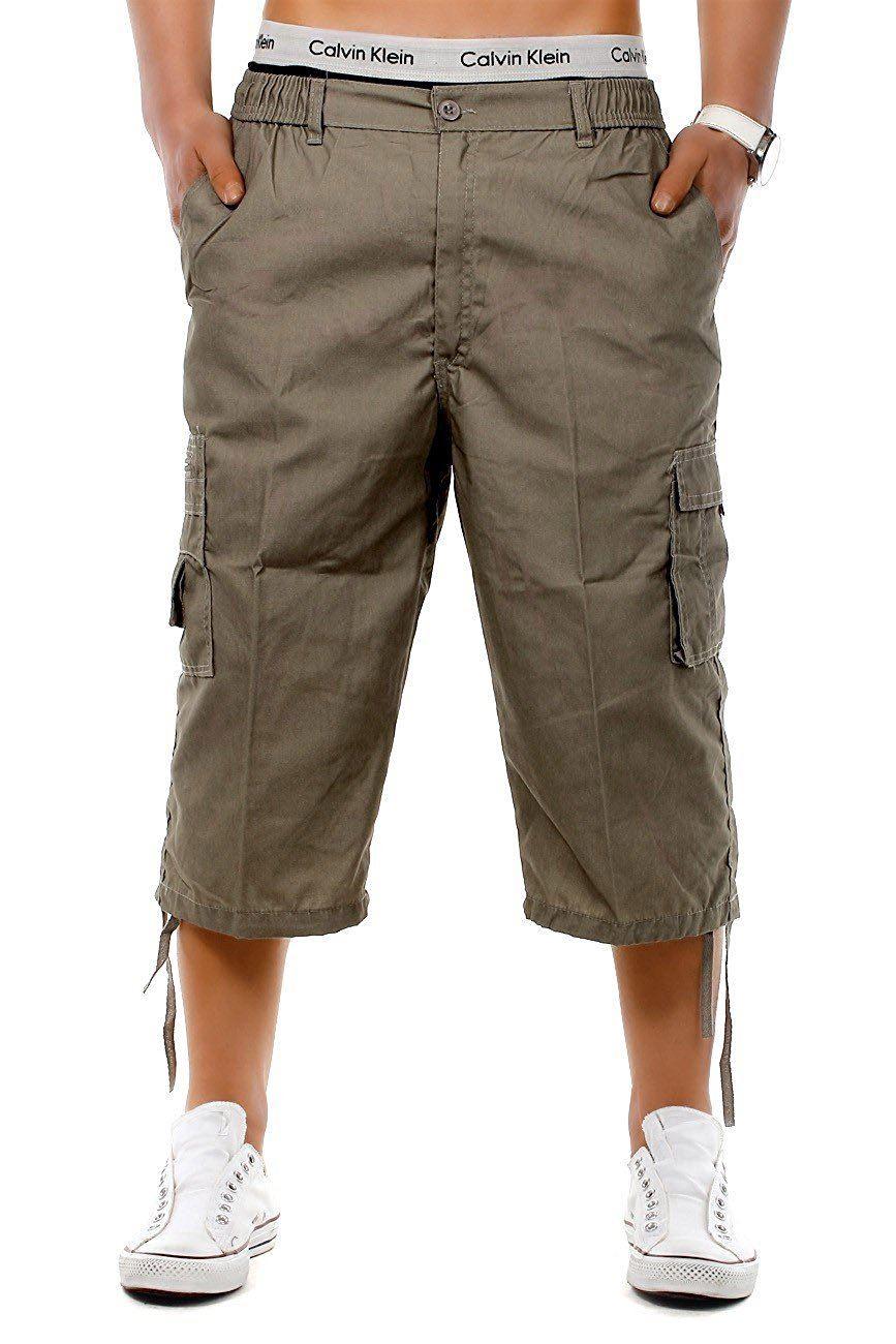 3/4 shorts men's