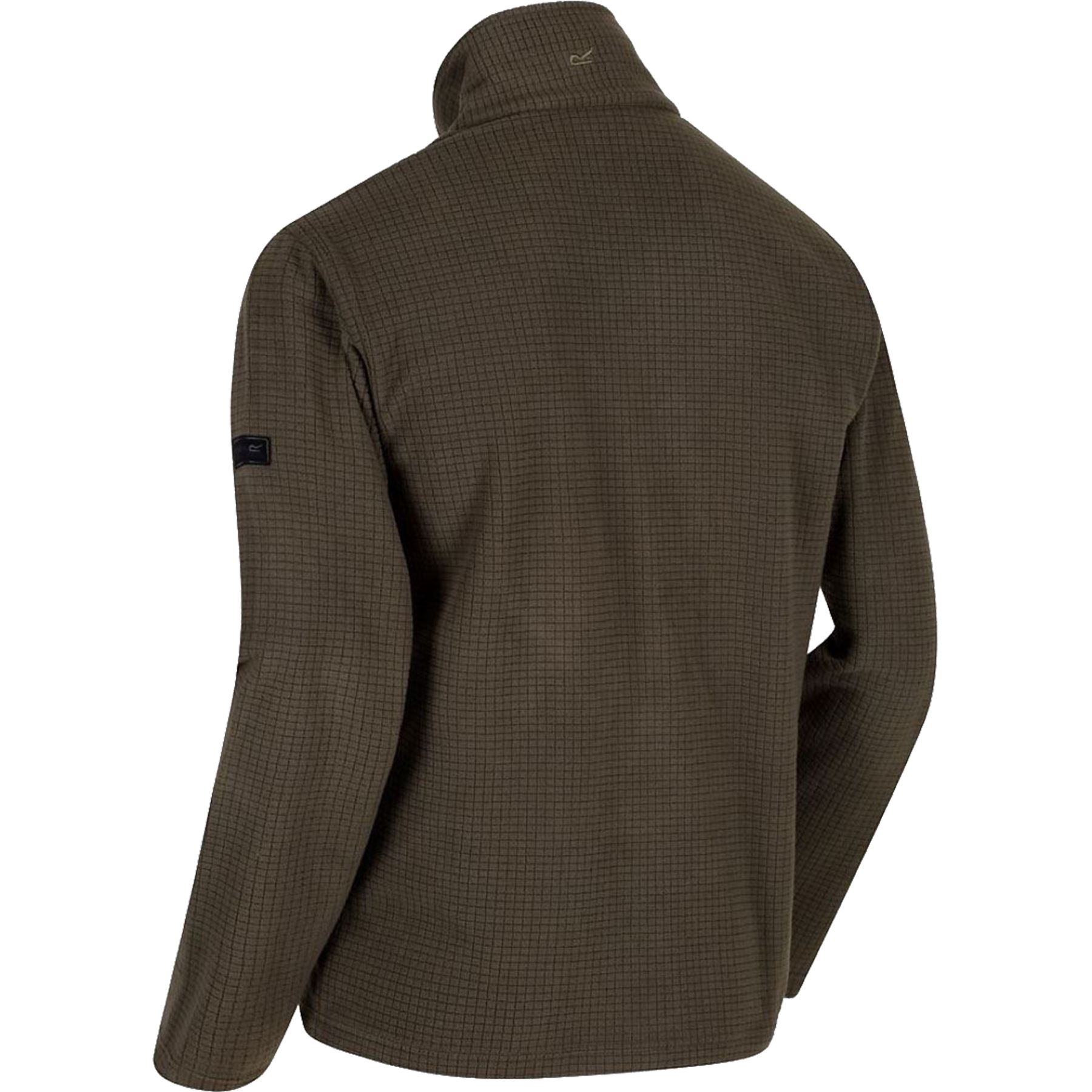 Mens-Regatta-Textured-Lightweight-Micro-Half-Zip-Fleece-Top-Jacket-Sizes-S-4XL thumbnail 3