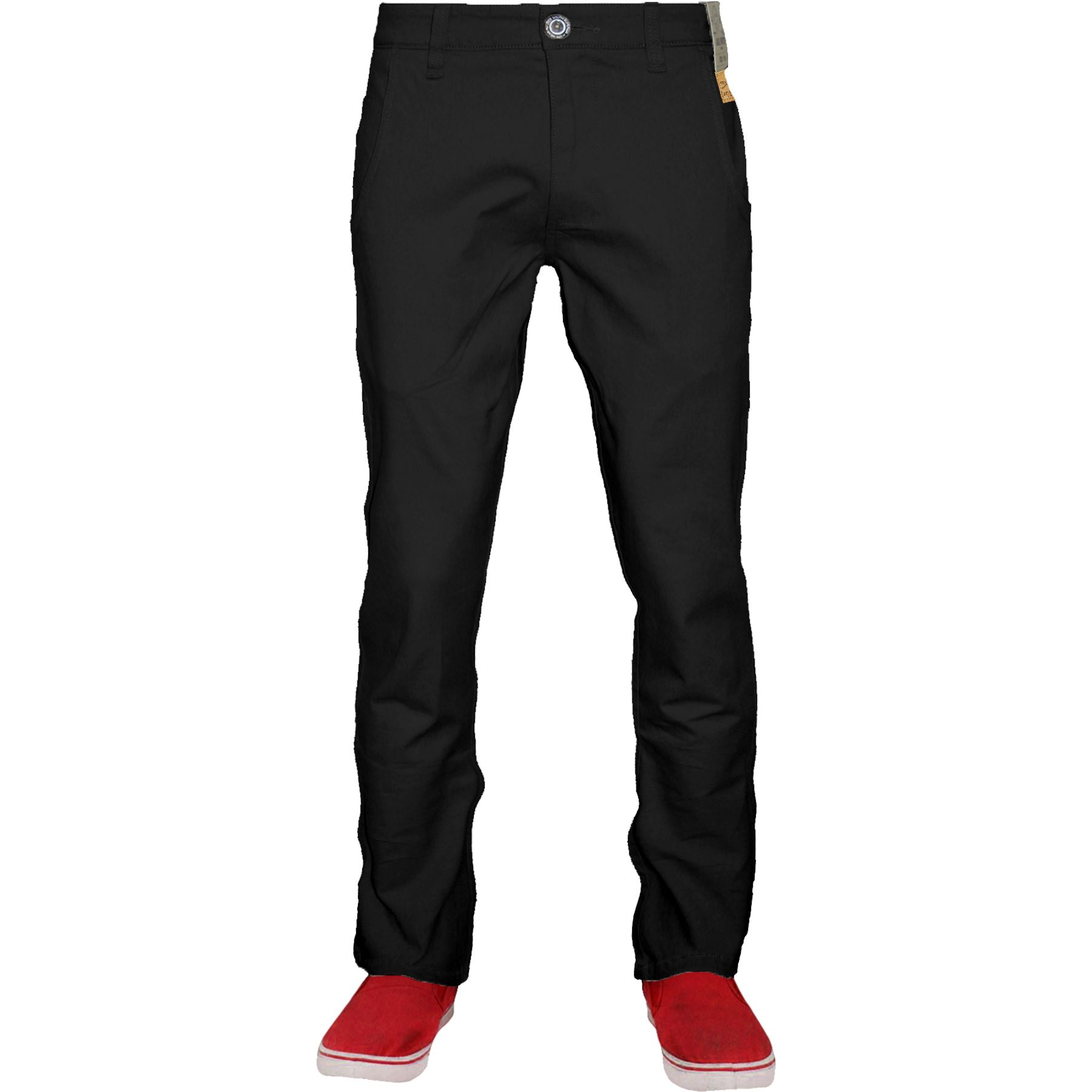 Mens-Chino-Classic-Regular-Fit-Trouser-Casual-Stretch-Spandex-Pants-Size-32-40 thumbnail 2
