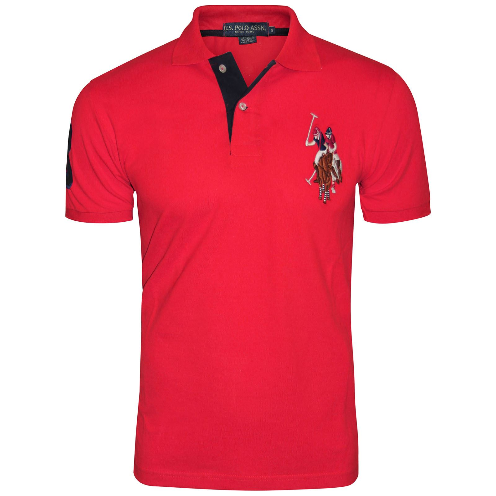 mens us polo assn t shirt original shirt coloured pony top short sleeve cotton ebay. Black Bedroom Furniture Sets. Home Design Ideas