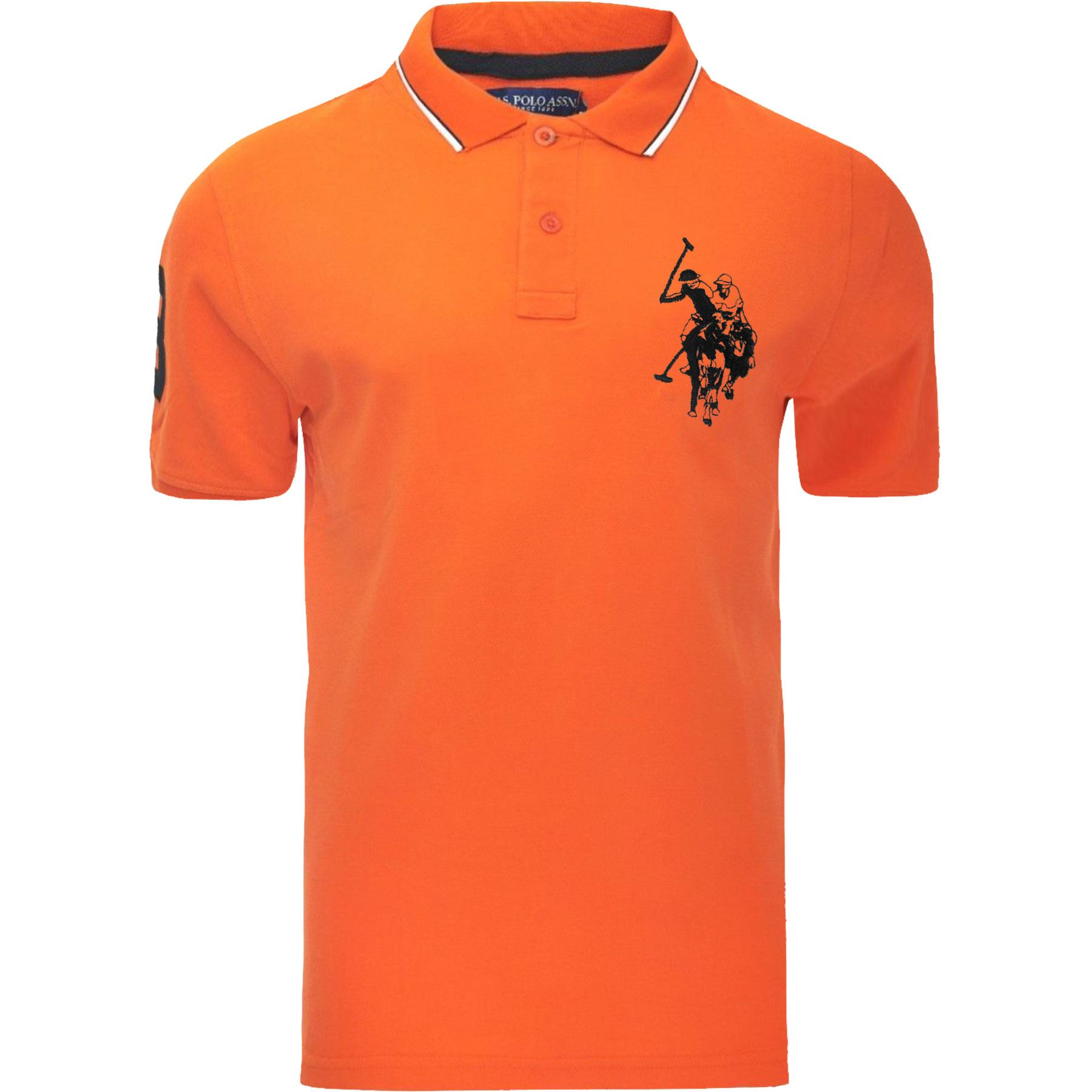 New mens us polo assn pique t shirt shirt branded top for Branded polo t shirts
