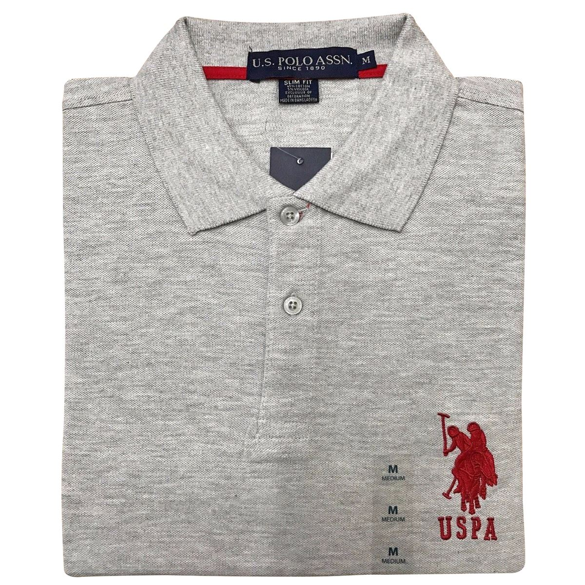 New Mens US Polo Assn Pique Tshirt Shirt Branded Top Short Sleeve - Us assn polo map