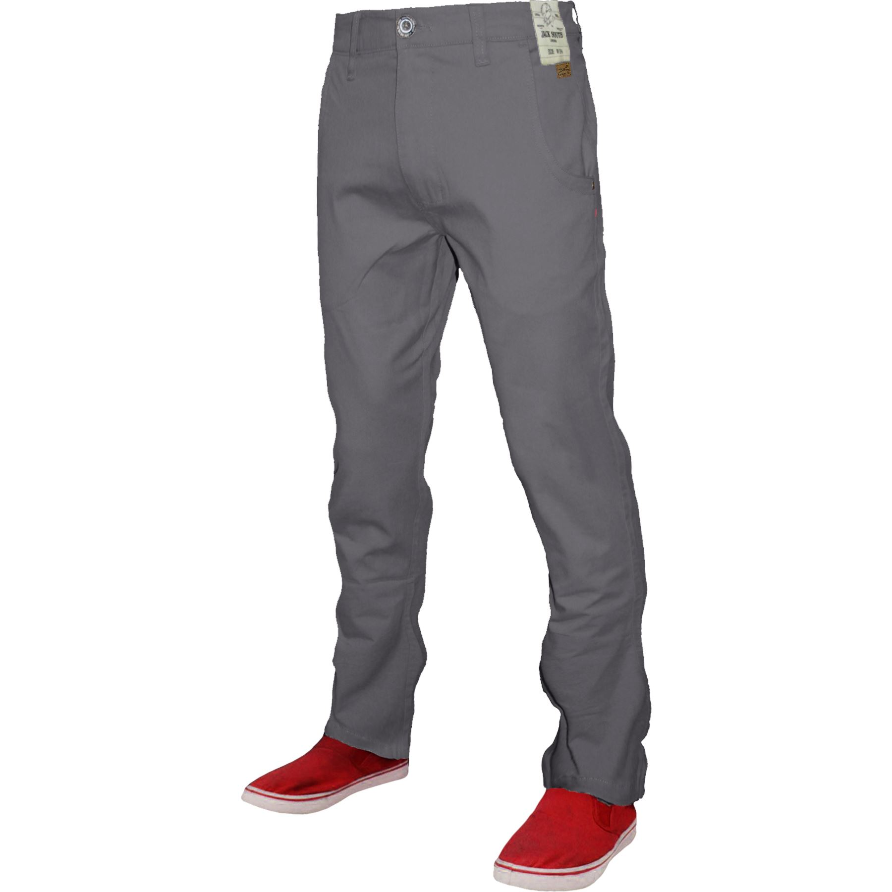Mens-Chino-Classic-Regular-Fit-Trouser-Casual-Stretch-Spandex-Pants-Size-32-40 thumbnail 9