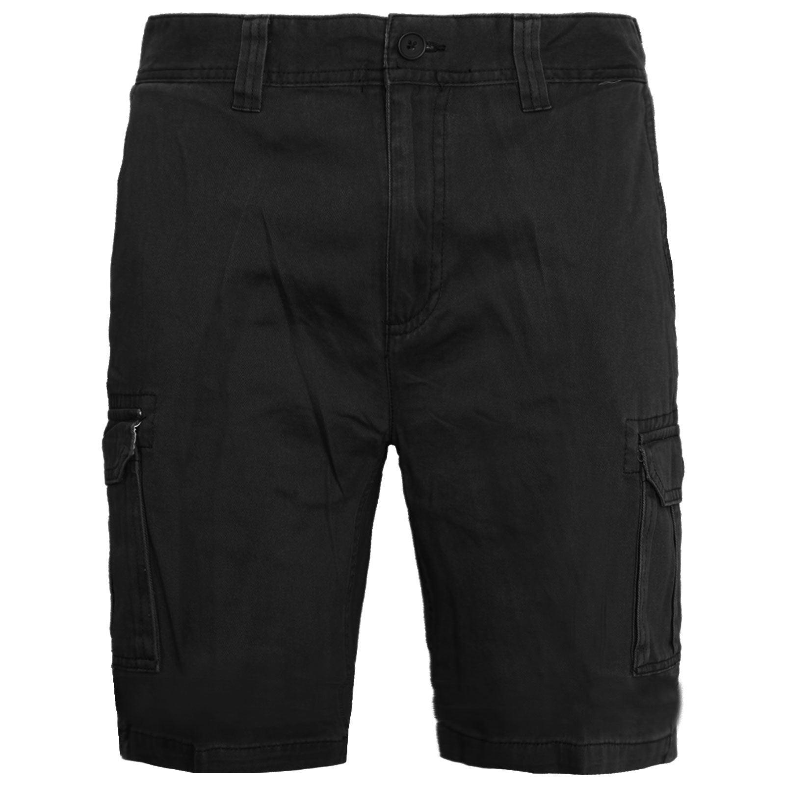 Mens-Multi-Pocket-Cargo-Shorts-Combat-Chino-Half-Pants-100-Cotton-Work-30-46 thumbnail 4