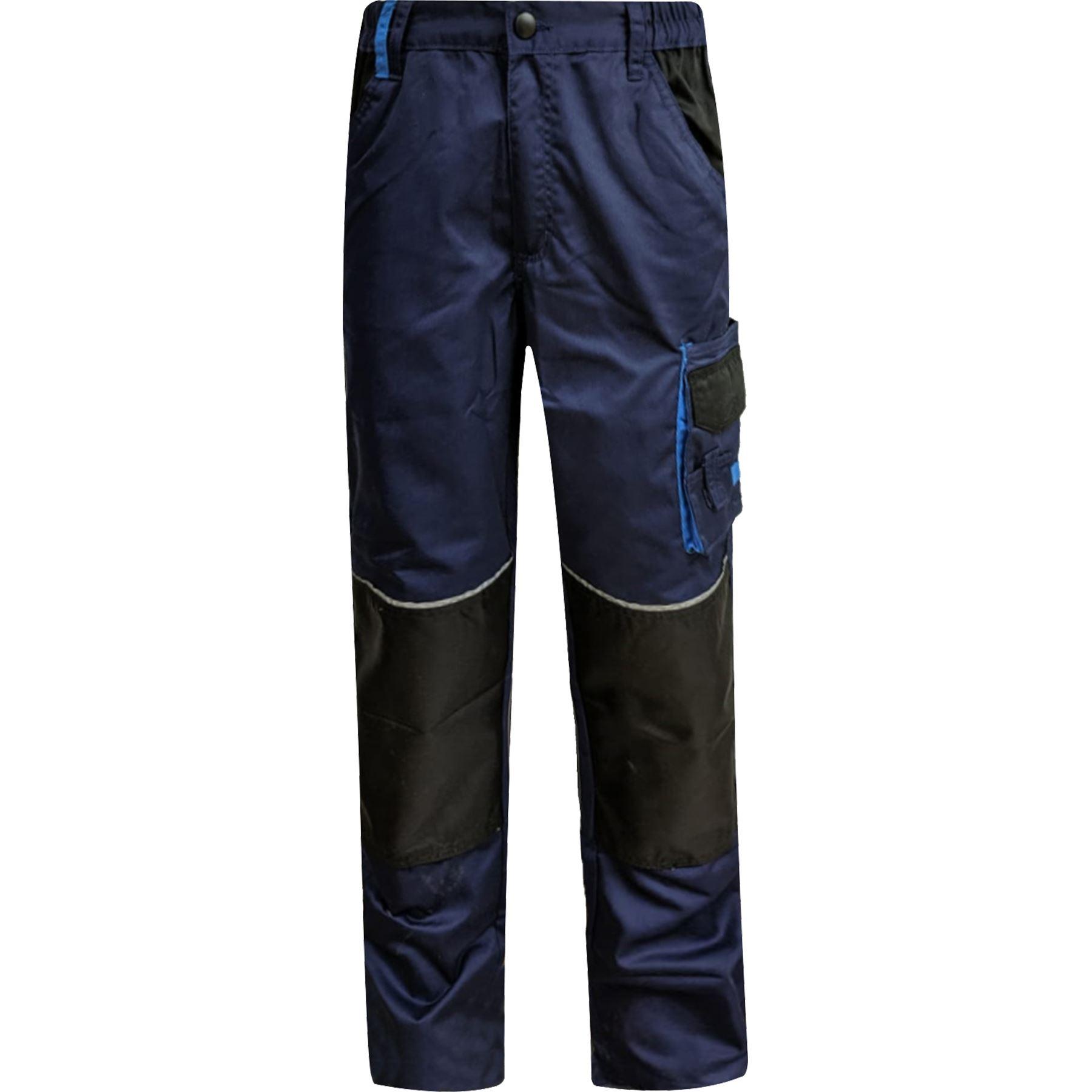 Para-Hombre-Elastico-Cargo-Pantalones-De-Trabajo-Cordura-Resistente-Rodilleras-Bolsillos-Hi-Vis miniatura 6