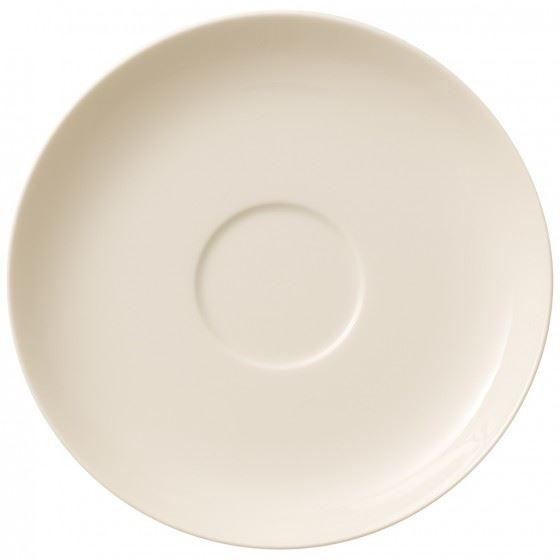 White Premium Porcelain 17 cm Villeroy /& Boch Caf/é Club Floral Touch Caf/é au Lait Saucer