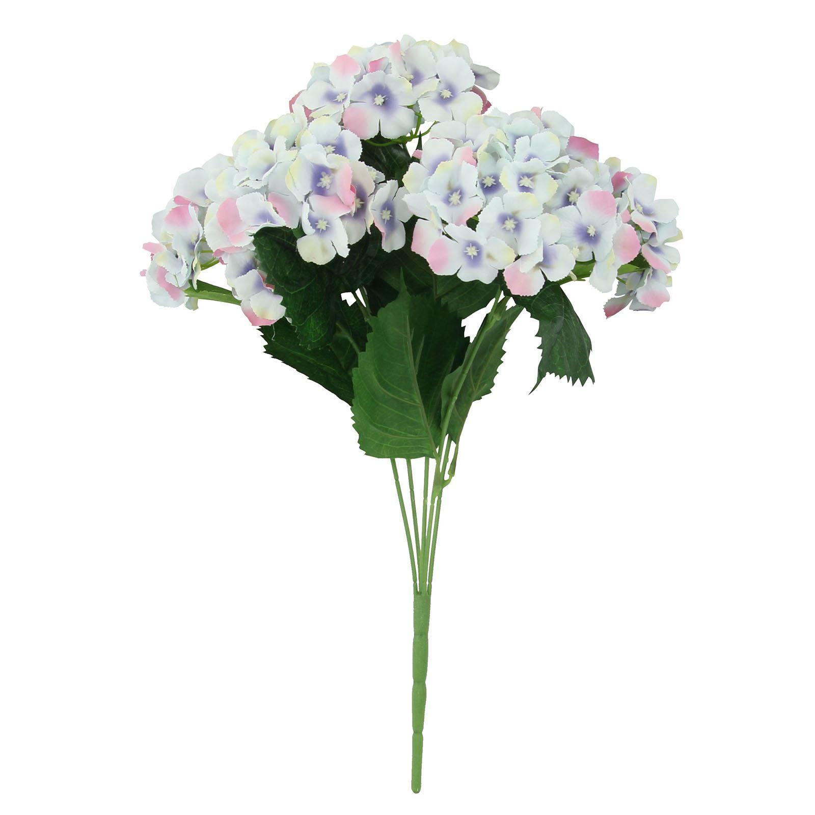 Large Hydrangea Blossom Bouquet Artificial Silk Wedding Fake Flowers