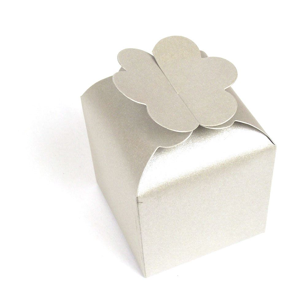Large Flower Top Coloured Cupcake Favours Cup Cake Boxes Wedding | eBay