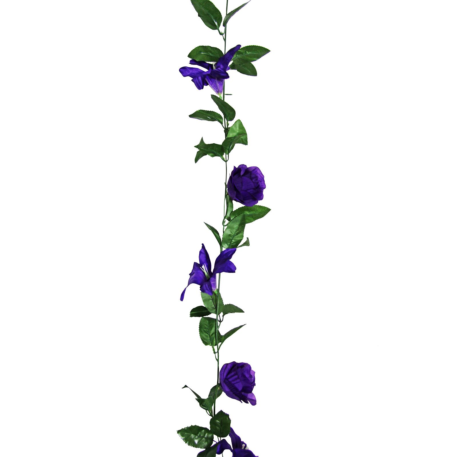 Flower Garland: Rose And Lily Flower Garland! Artificial Fake Flowers Vine