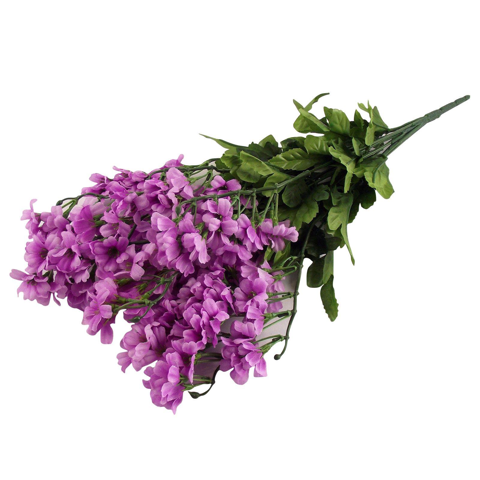 Silk Flower Bouquets Do Yourself: Large Blosom Bush Bouquet! Artificial Flowers Peach Plum