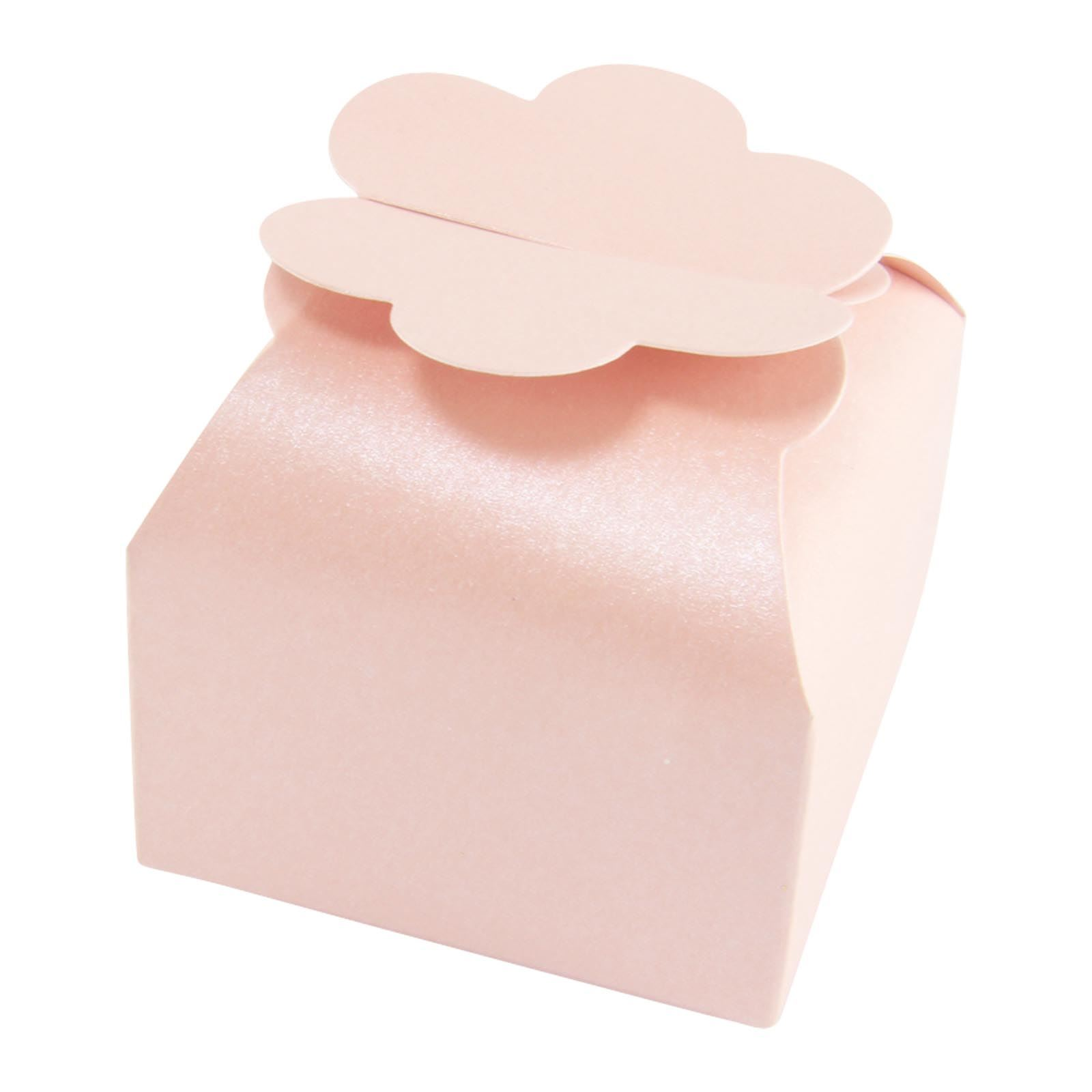 Cloud Top Pearlised Favour Boxes High Quality Wedding Sweet Flower ...