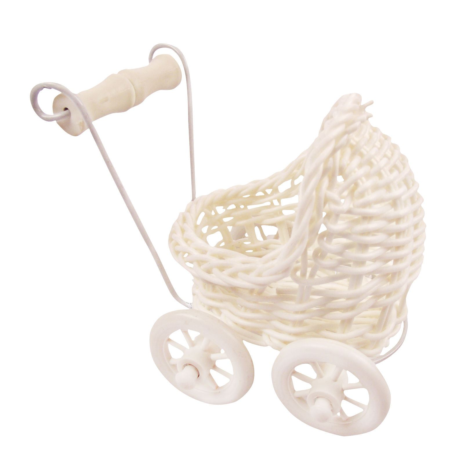 Mini Wicker Baby Booty Favours Baby Shower Gifts Boxes Sweets