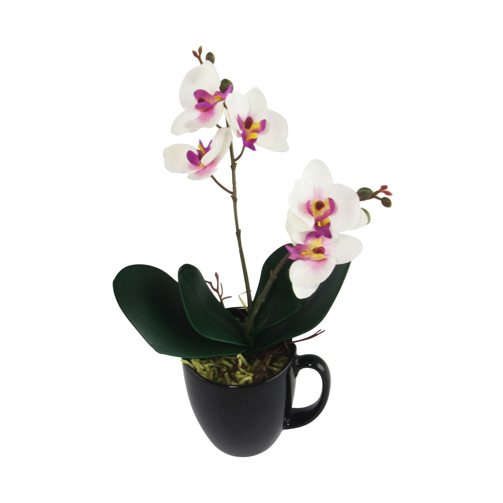 Mini cuchi orchid spray tiny artificial flowers craft for Fake flowers for crafts