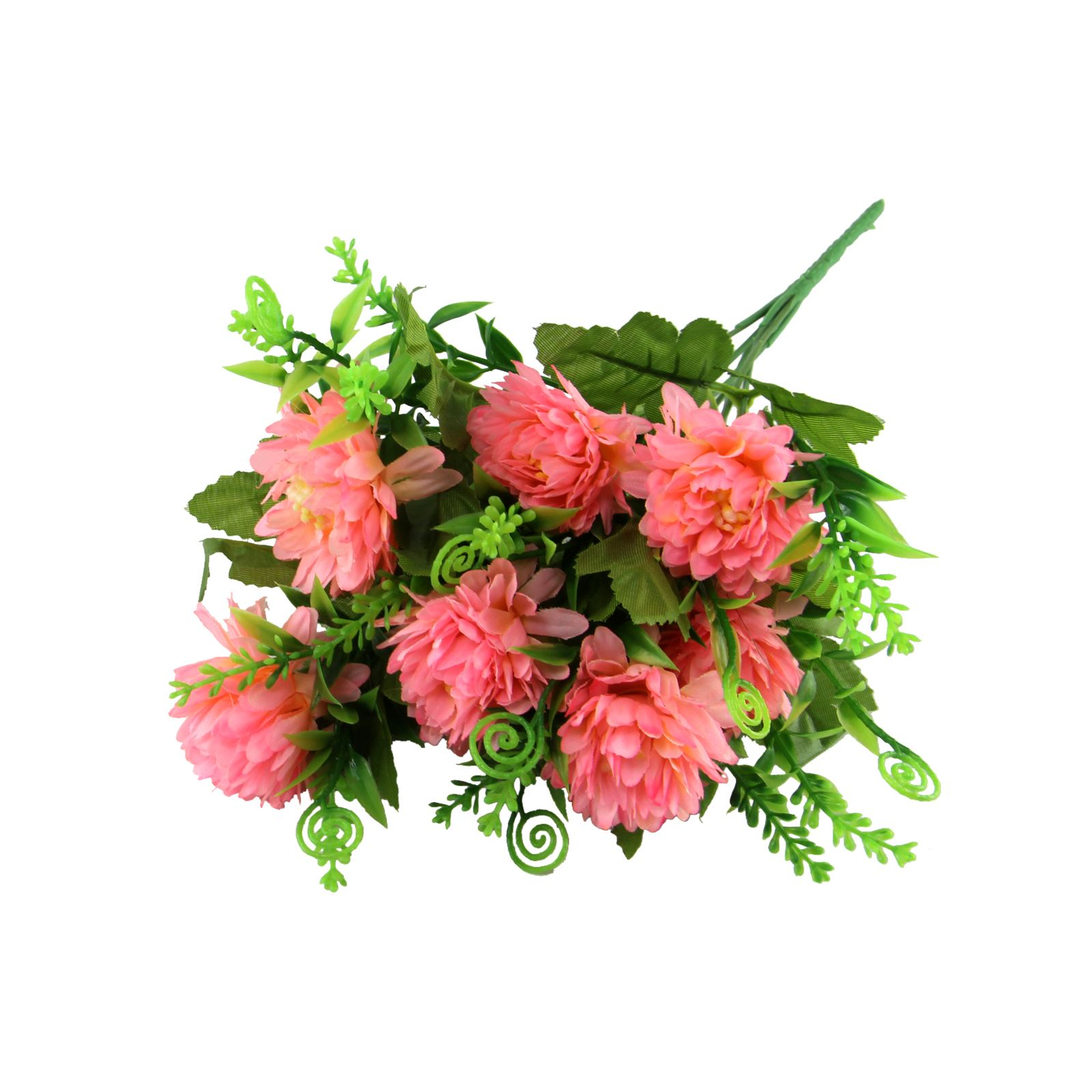 7 head small spiky mum flower bunch artificial silk flowers picture 3 of 3 izmirmasajfo