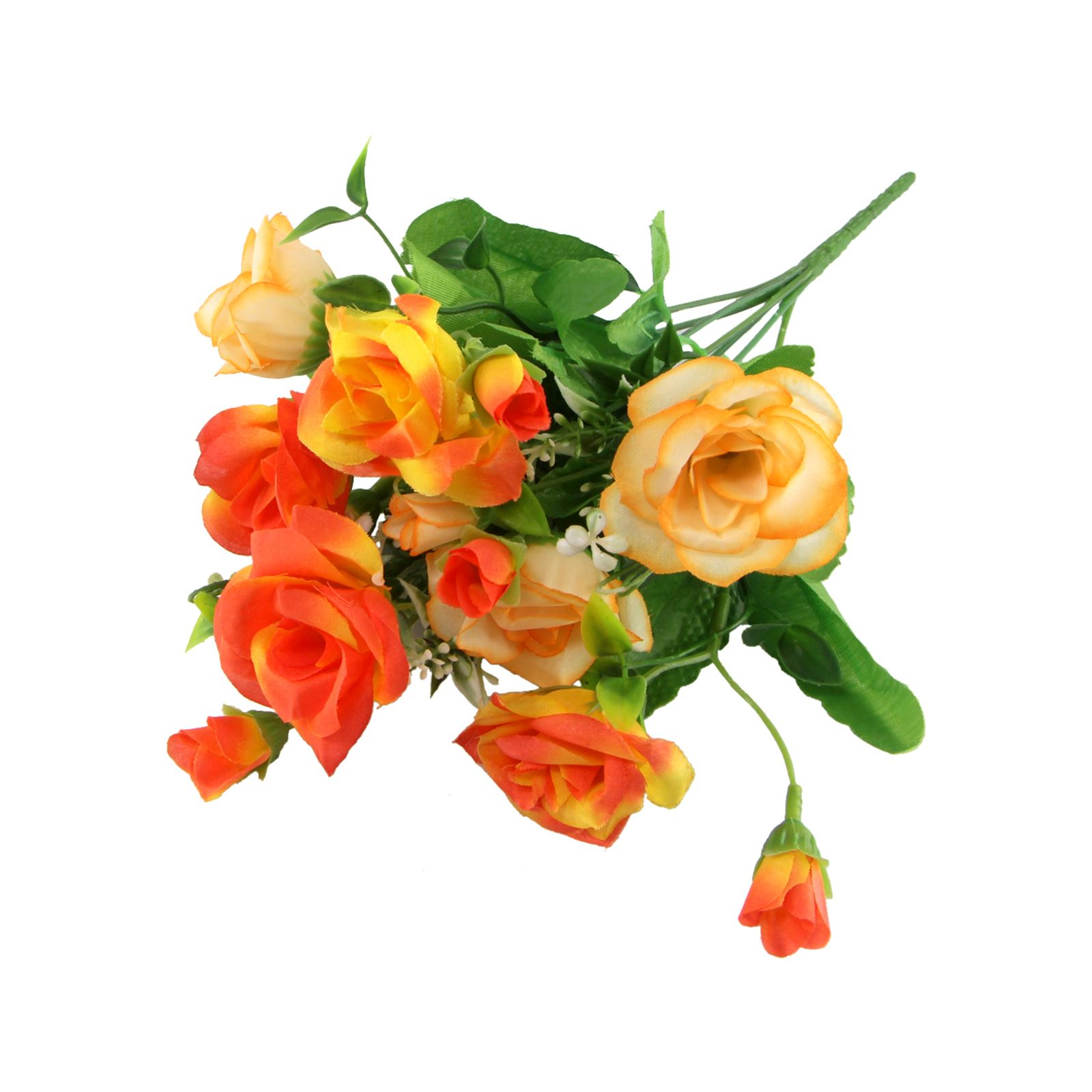 Two Toned Lisianthus Bouquet Small Artificial Flowers Bunch