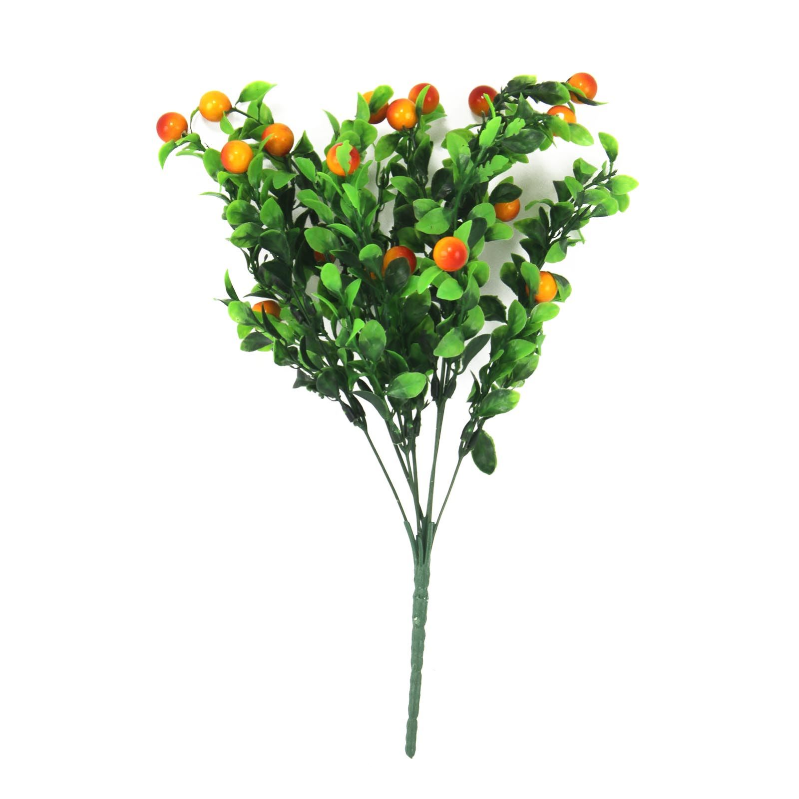 plastic chilli kumquat and berry bunches artificial fake fruit