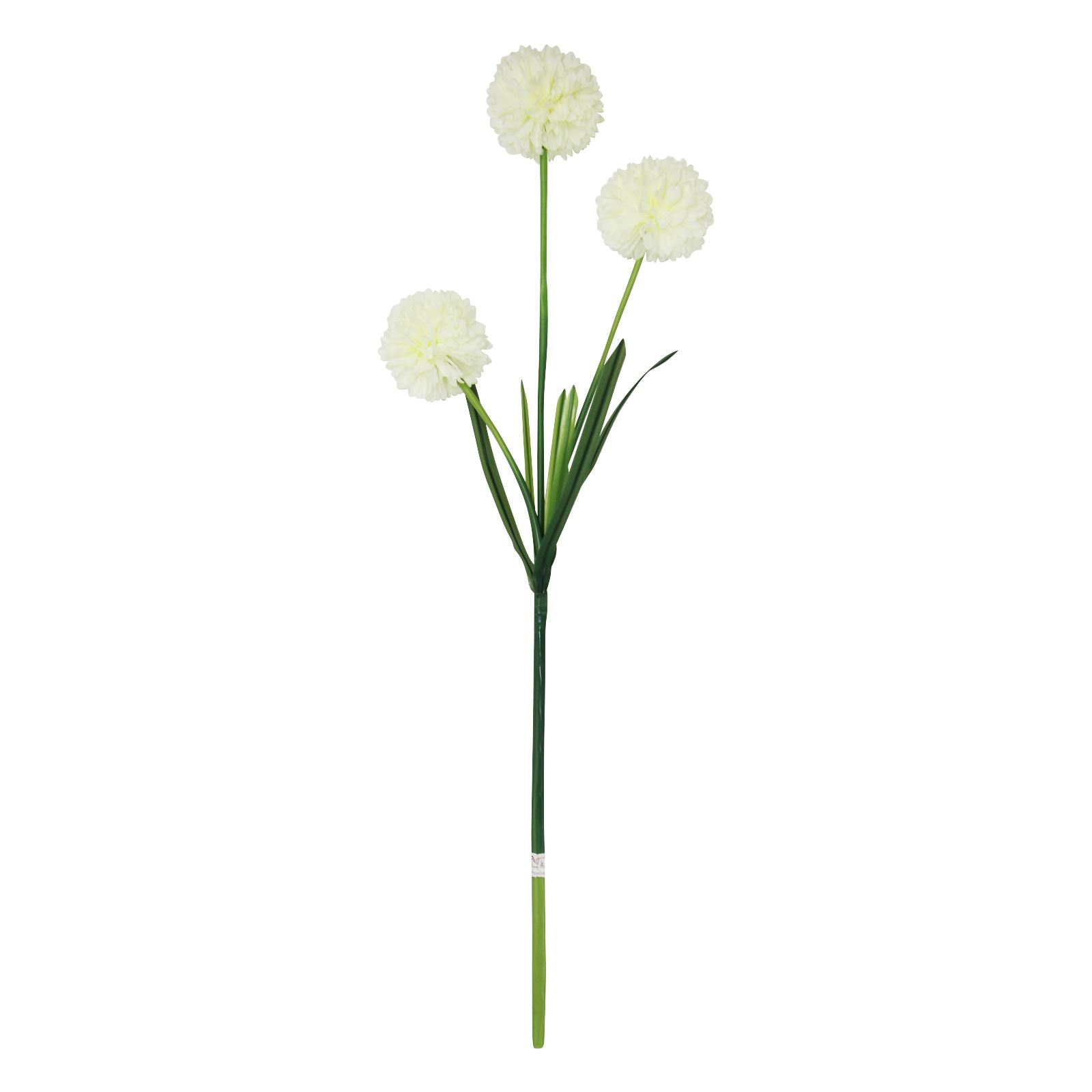 3 headed large pompom allium spray artificial silk flowers fake 3 headed large pompom allium spray artificial silk mightylinksfo