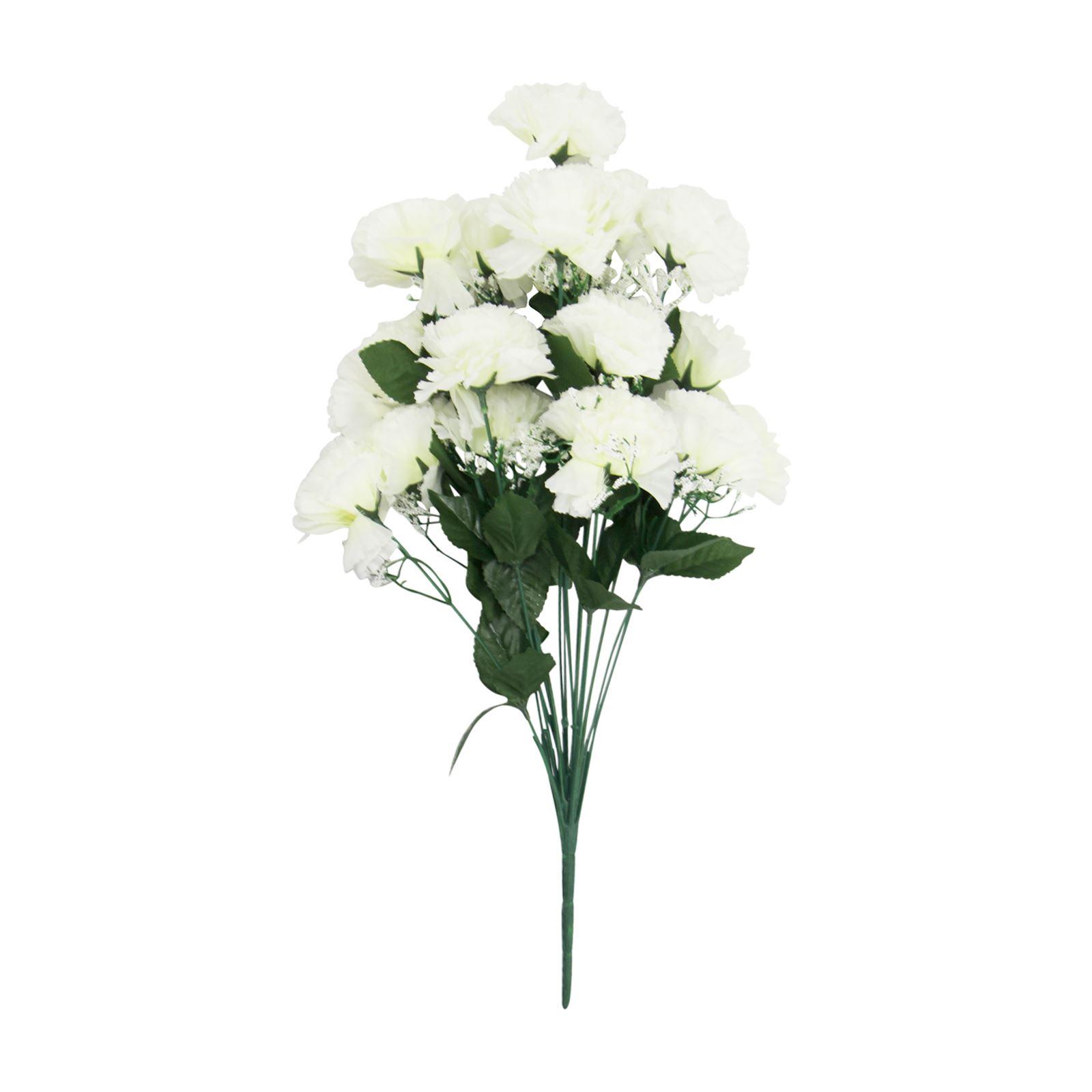 18 head large carnation bouquet artificial silk flowers fake 18 head large carnation bouquet artificial silk flowers izmirmasajfo